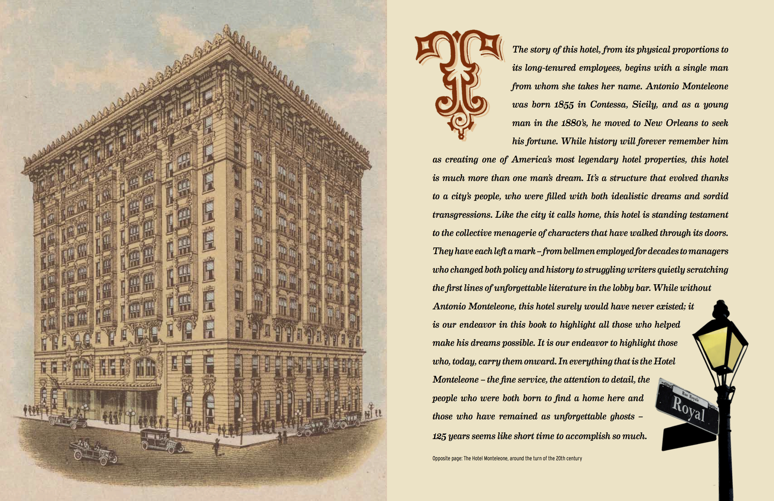 An excerpt from  The Hotel Monteleone: More than a Landmark, the Heart of New Orleans Since 1886