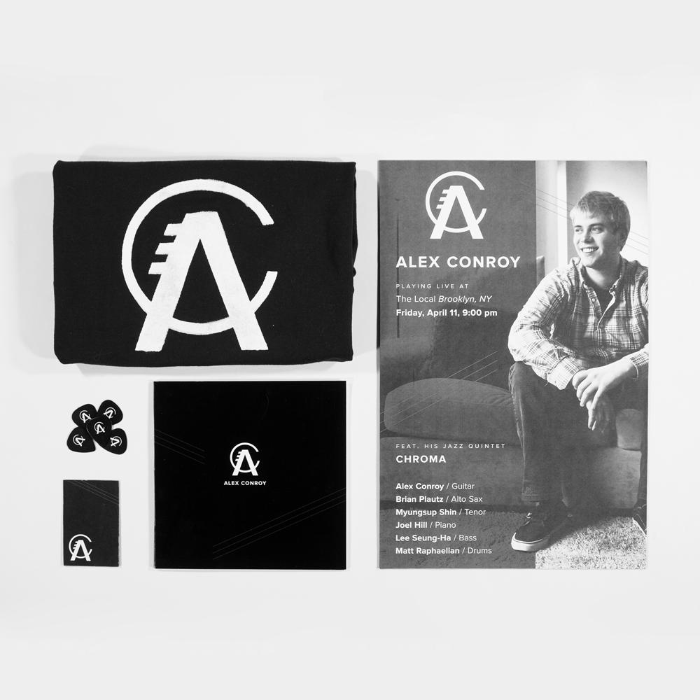 ALEX CONROY MUSIC  / Brand Identity