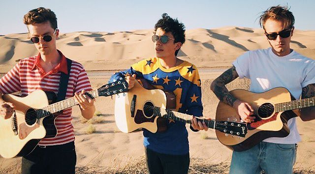 we had a jam session in the desert - more to come 💛🖤