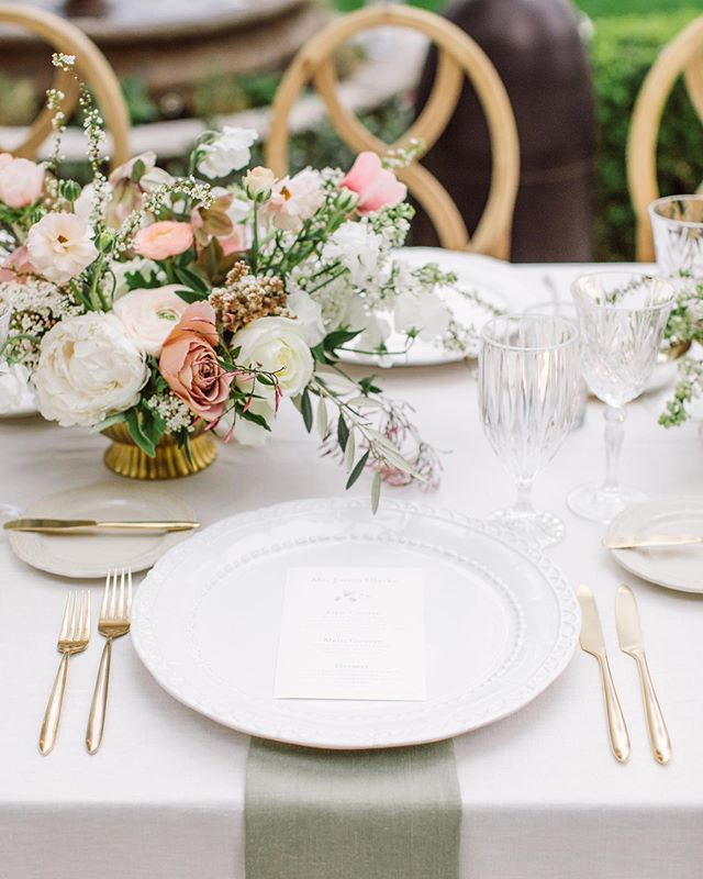Excited to share that Kate and Jeff's romantic Kenwood wedding was featured on @stylemepretty on Saturday! I loved everything about this day. Who wouldn't want to dine at this table?  Event Design and planning: @prim_eventstudio Venue: @kenwoodinn Floral Design: @lilyandmint Photography: @theedgeswed Rentals: @encoreeventsrentals Linens: @latavolalinen Catering: @ramekinssonoma Stationery: @aerialistpress DJ: @djcams Officiant: White Robed Monks Cake: @flourandbloomcakes  HMU: @by_alanahalvorsen  Dress: @oscardelarenta