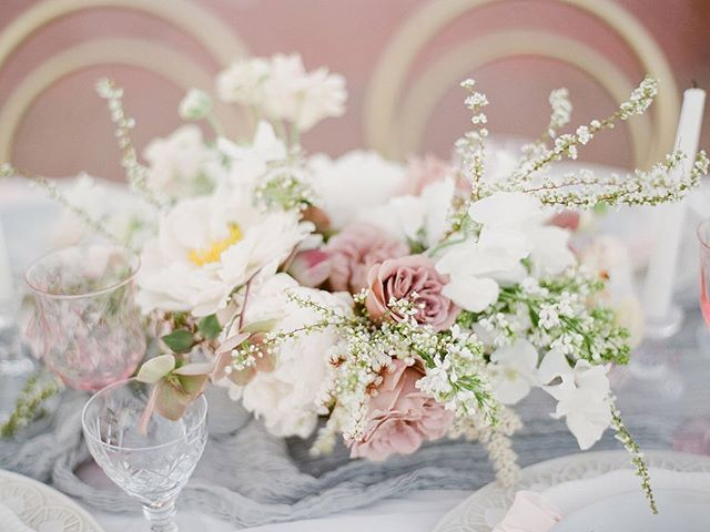 A little romance for your Monday.  Design and planning @timelesseventplanning Photographer: @radostina.photography Venue: @lyfordhouseevents Invites: @acqua_and_ink Florist: @lilyandmint Hair and makeup: @blushbeautystyling Tableware: @frances_lane Linen and ribbon: @partycrushstudio Rentals: @lux_eventrentals Dress: @sibodesigns Vow Books: @weddingstorywriter Lingerie: @tres_sur Shoes: @bellabelleshoes Model: @phoebcatss