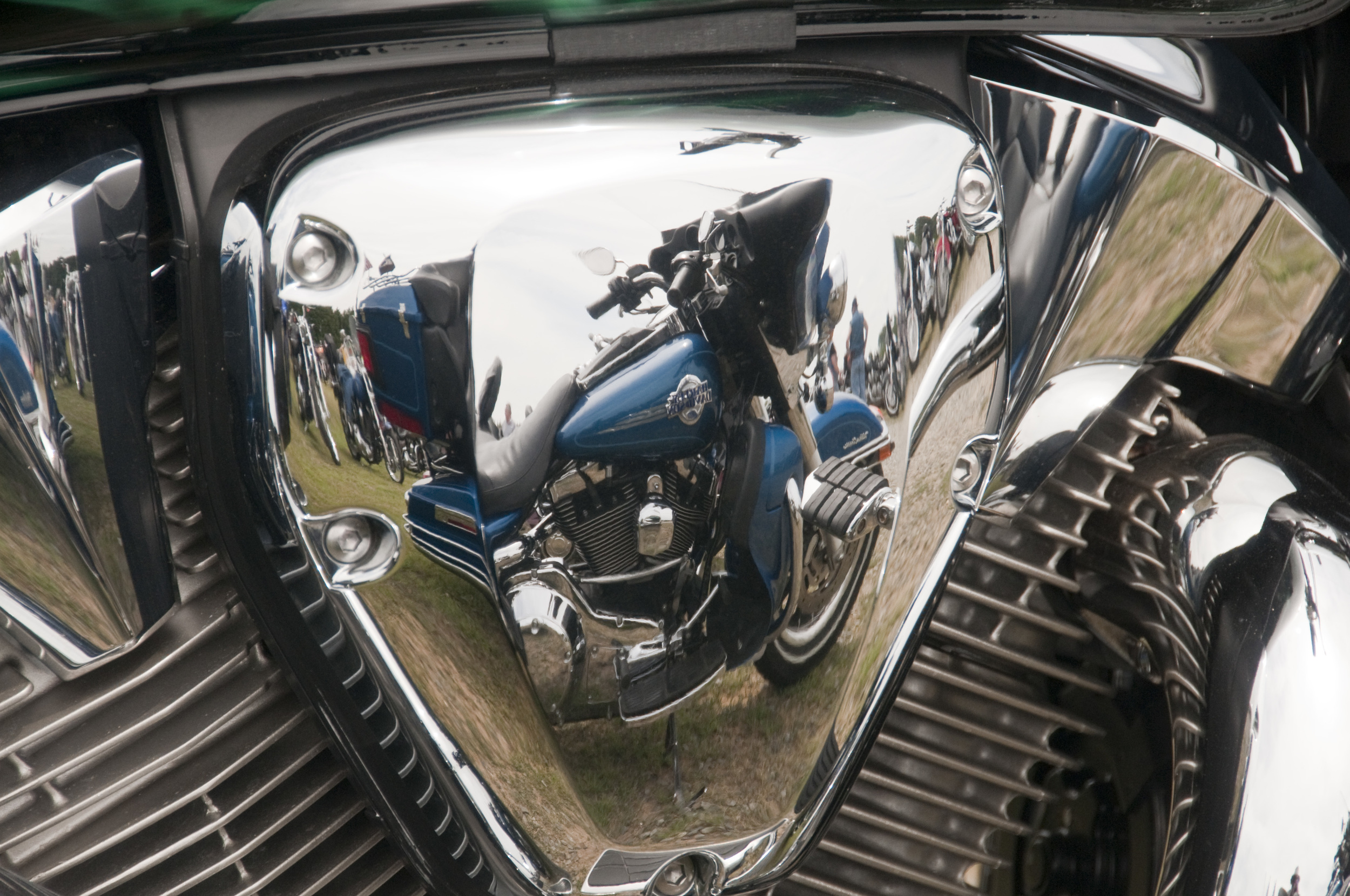Harley reflection