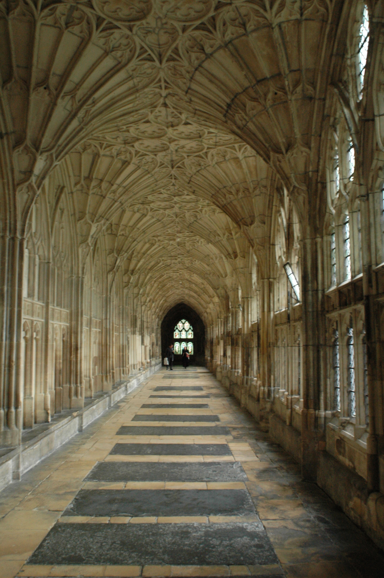 Cathedral hallway