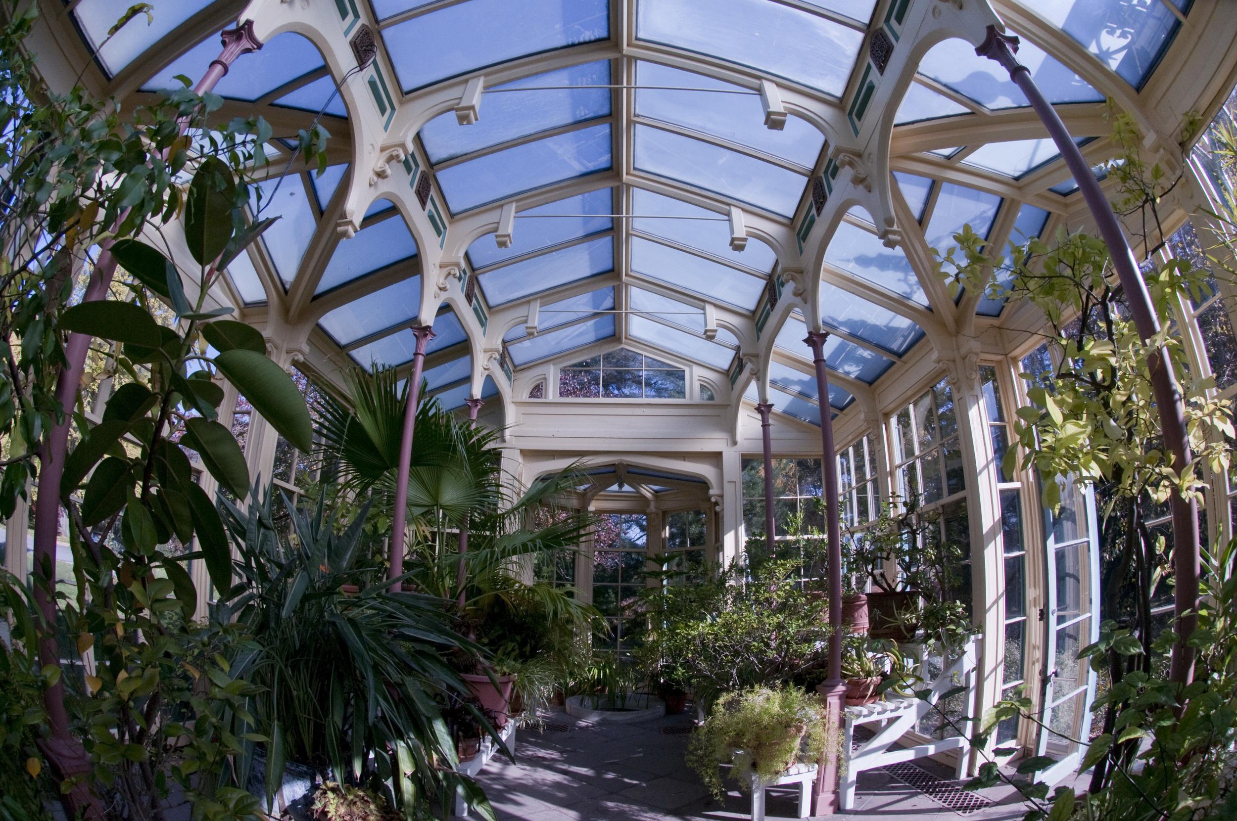 Rockwood Mansion conservatory