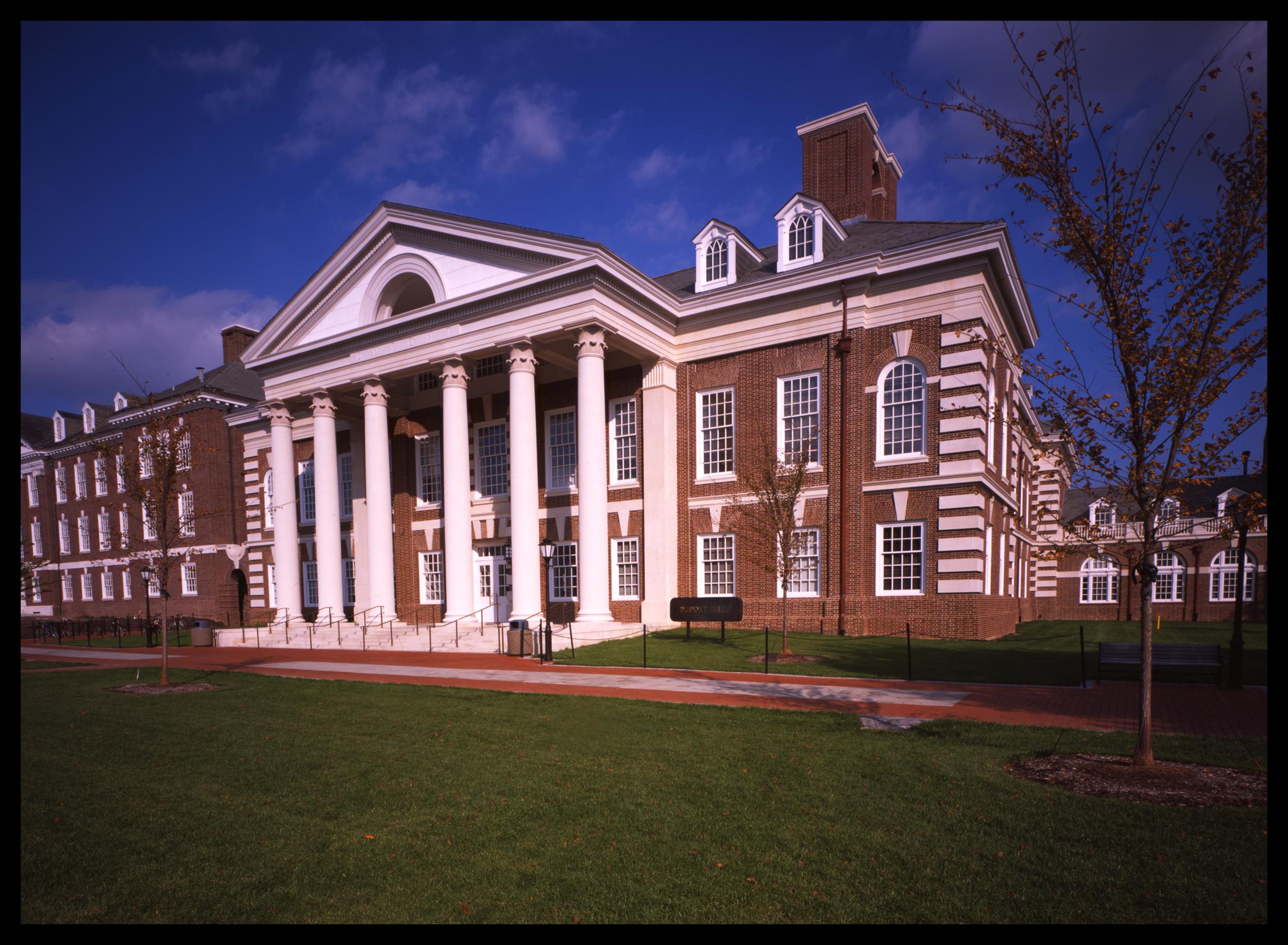duPont Hall, University of Delaware