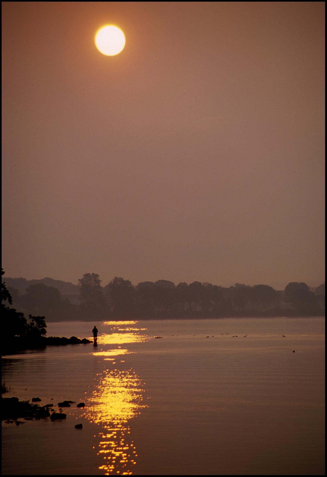 sunrise near Havre de Grace, Md.
