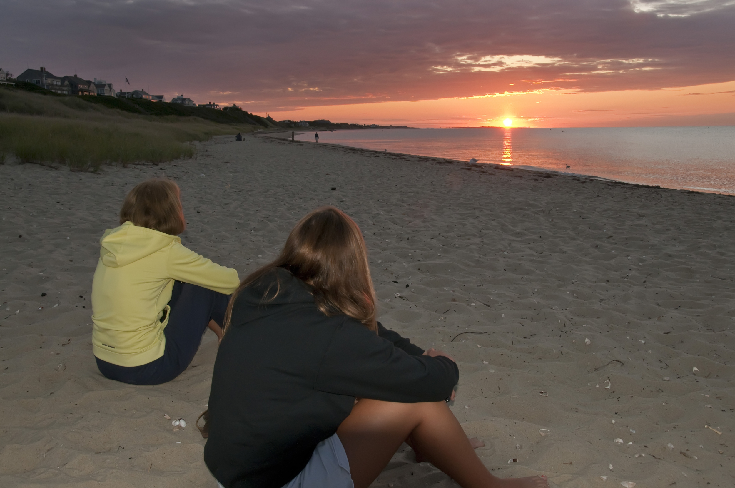 sunset Nantucket