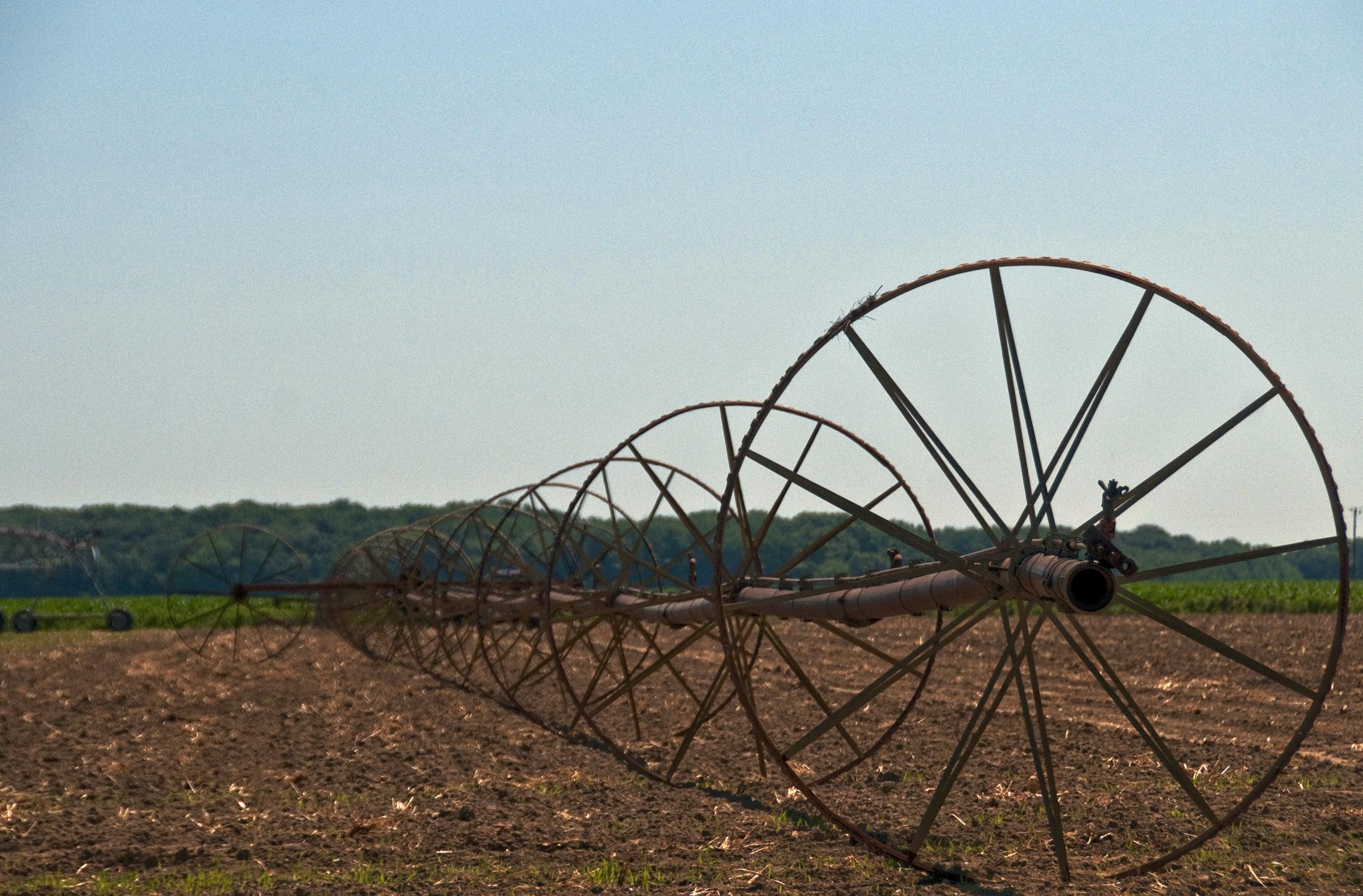 irrigator near Smyrna, De.