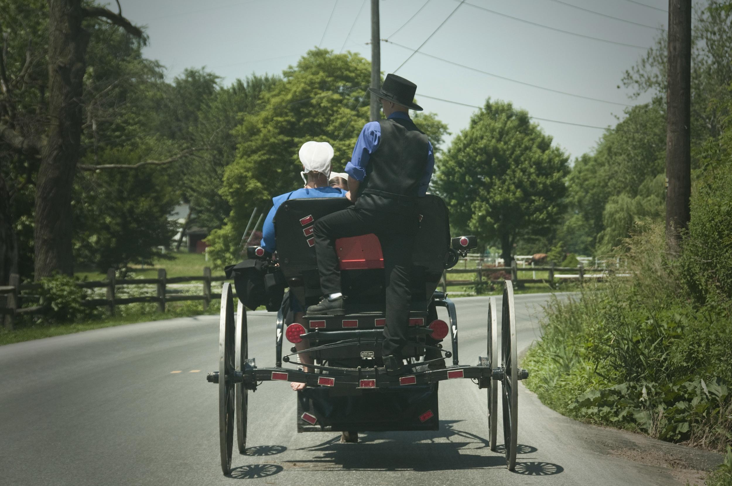 Amish hitchhiker