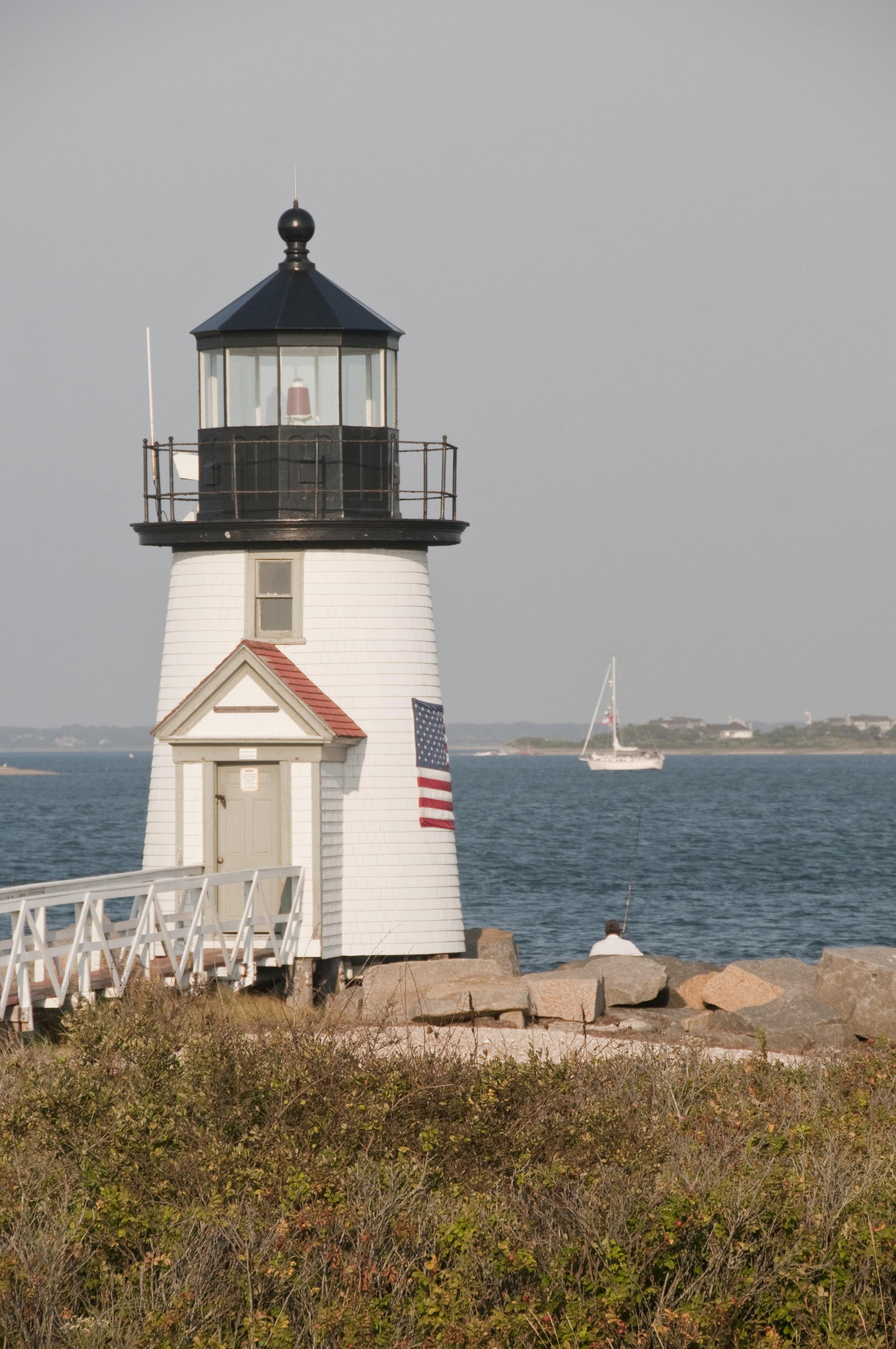 Brandt Point lighthouse Nantucket