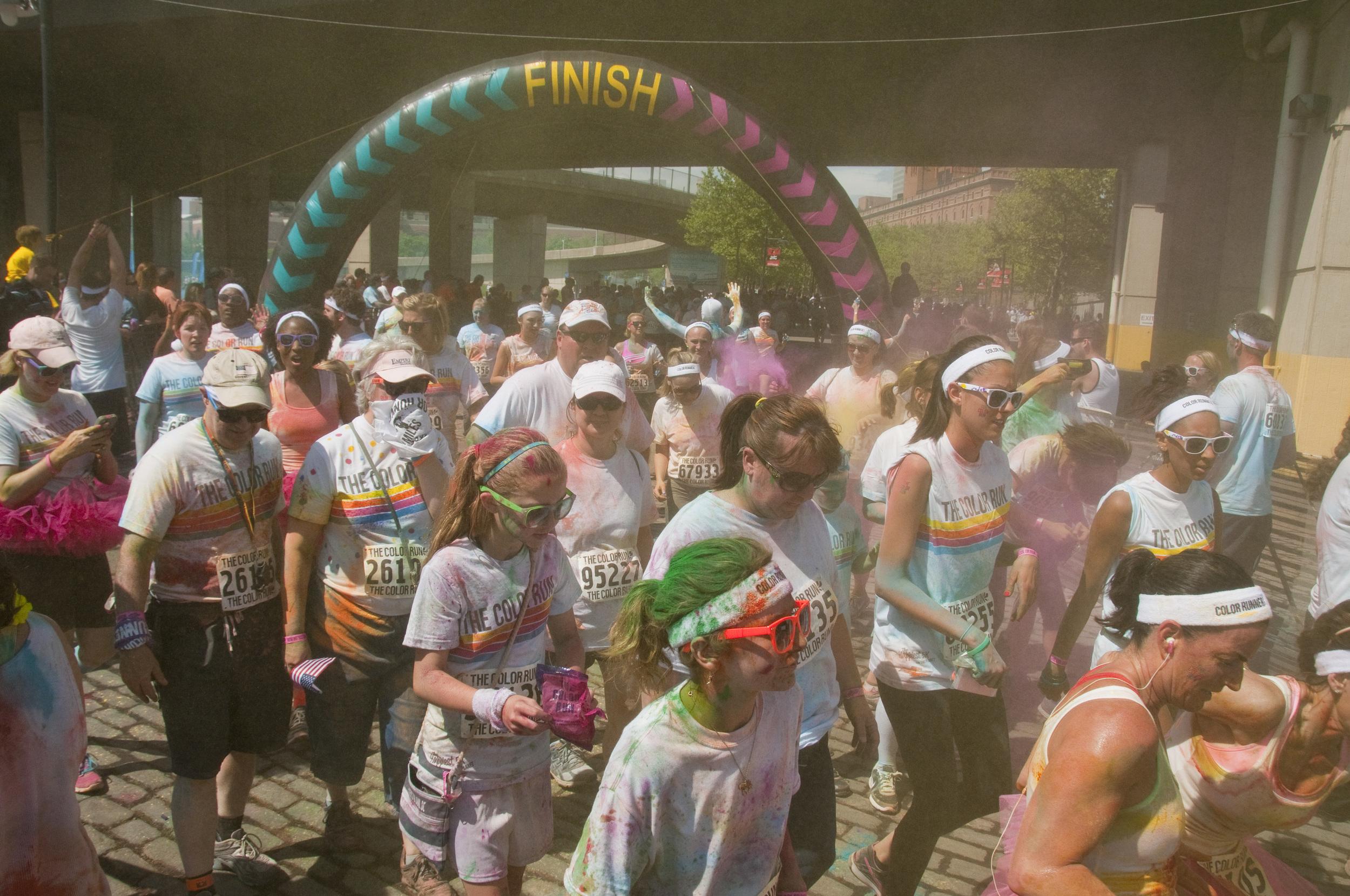 color run Baltimore, Md.