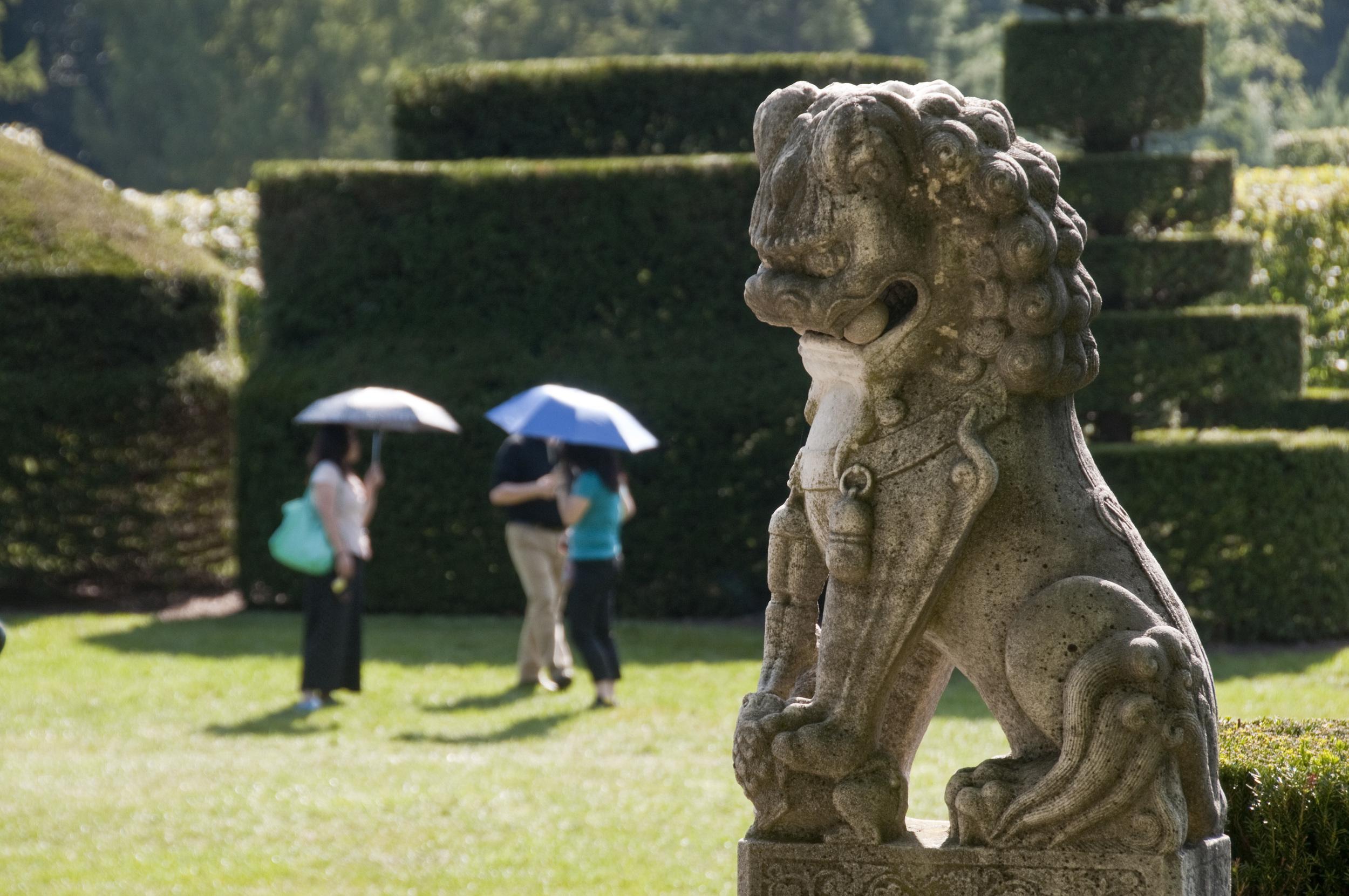 Longwood topiary garden
