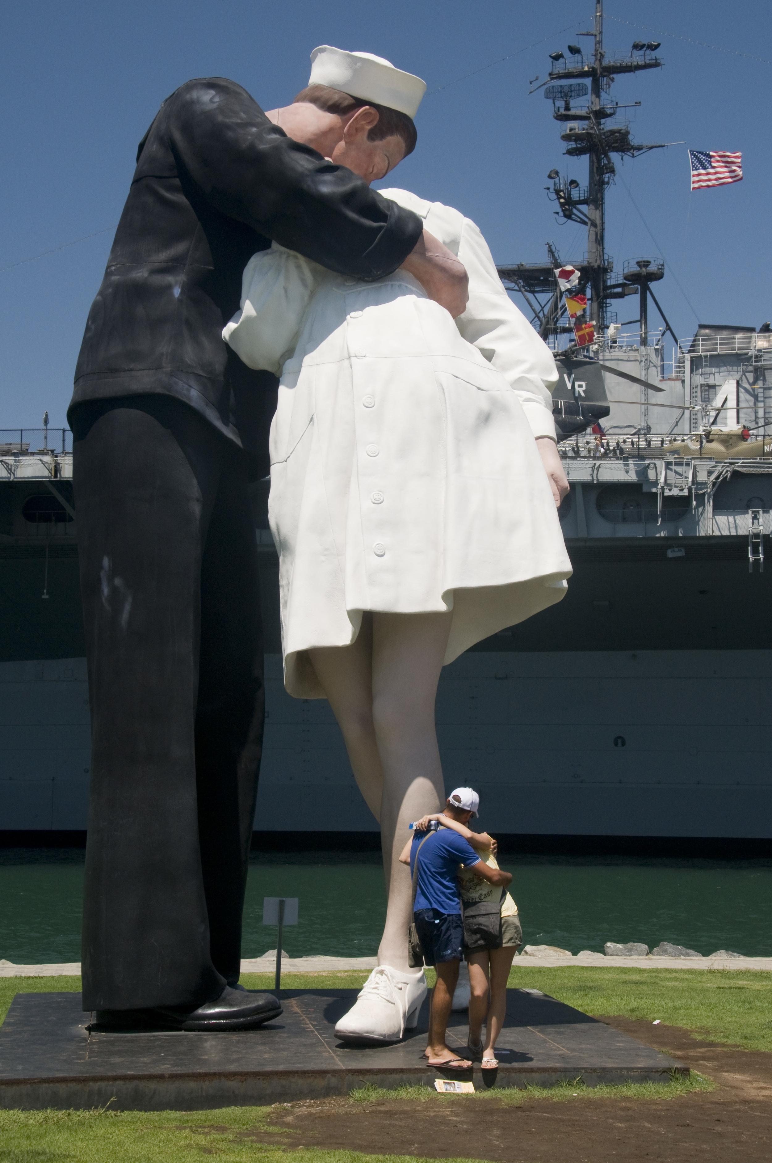 huge sculpture San Diego
