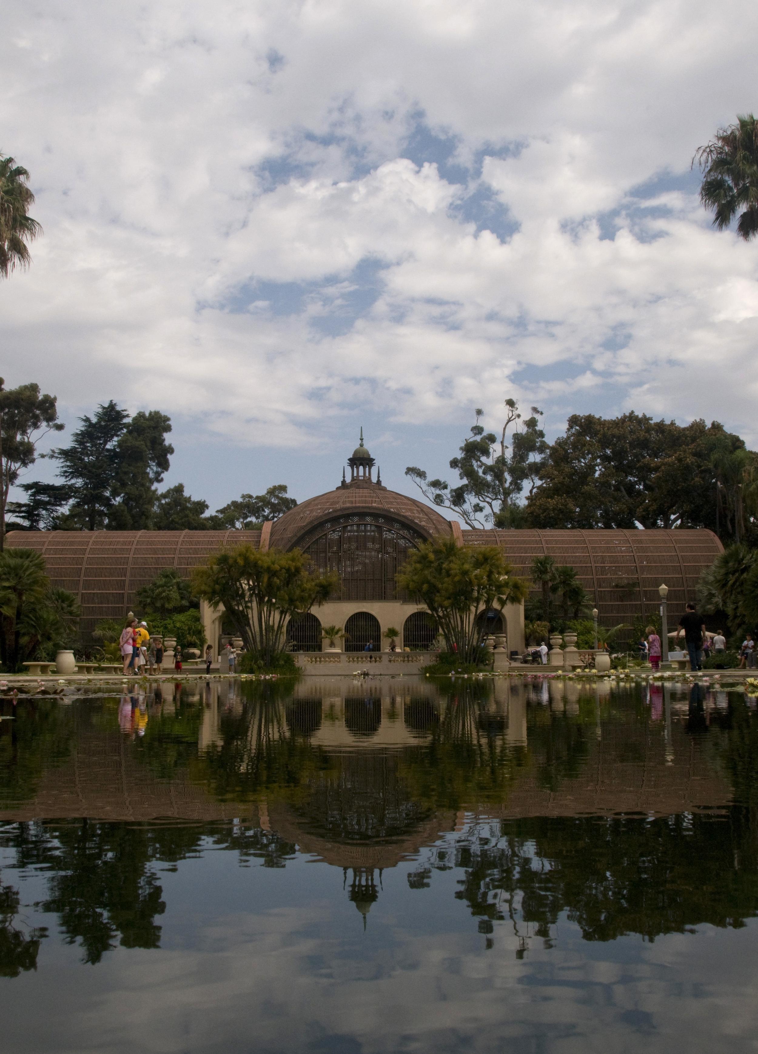 Balboa Park botanical house