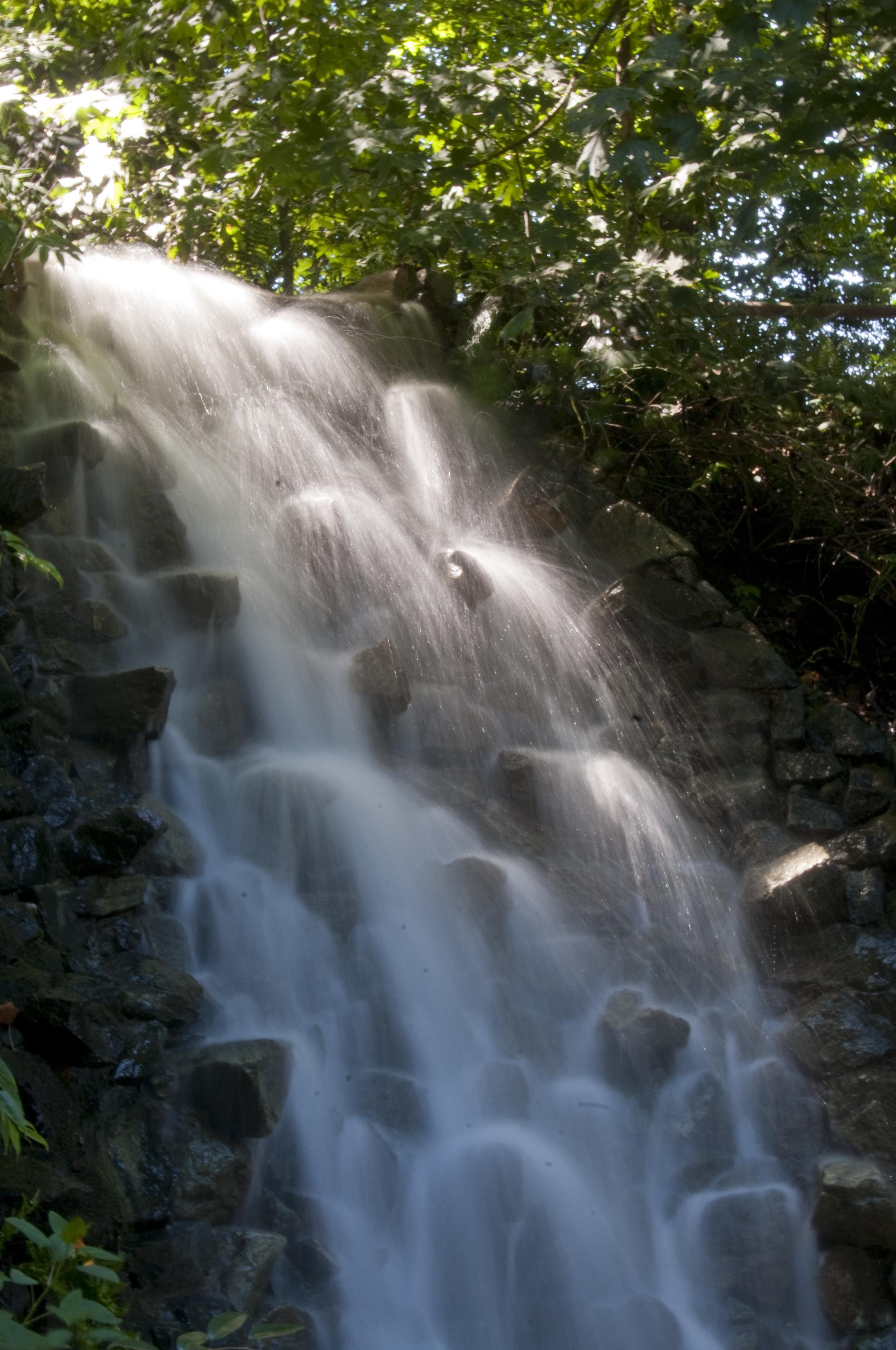 Longwood water fall
