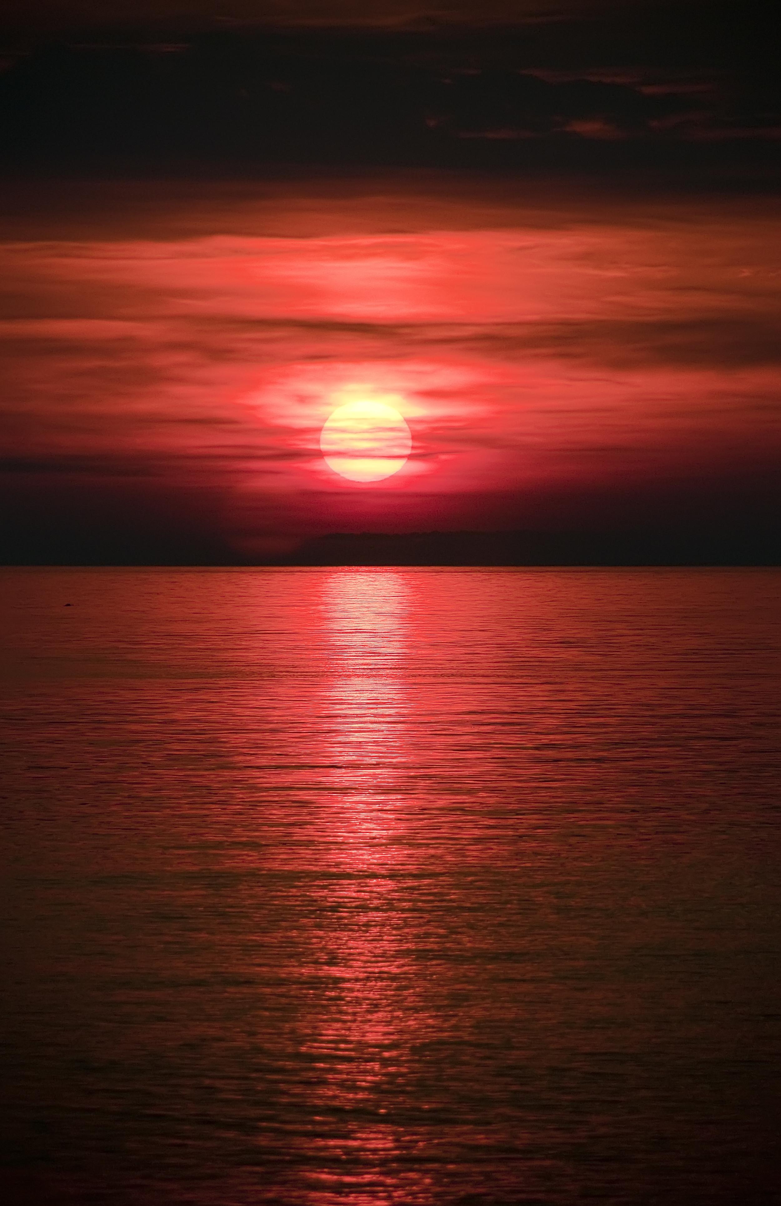 Silver Beach sunset