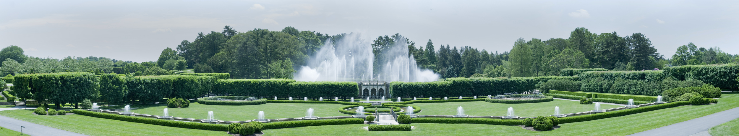 Longwood fountains