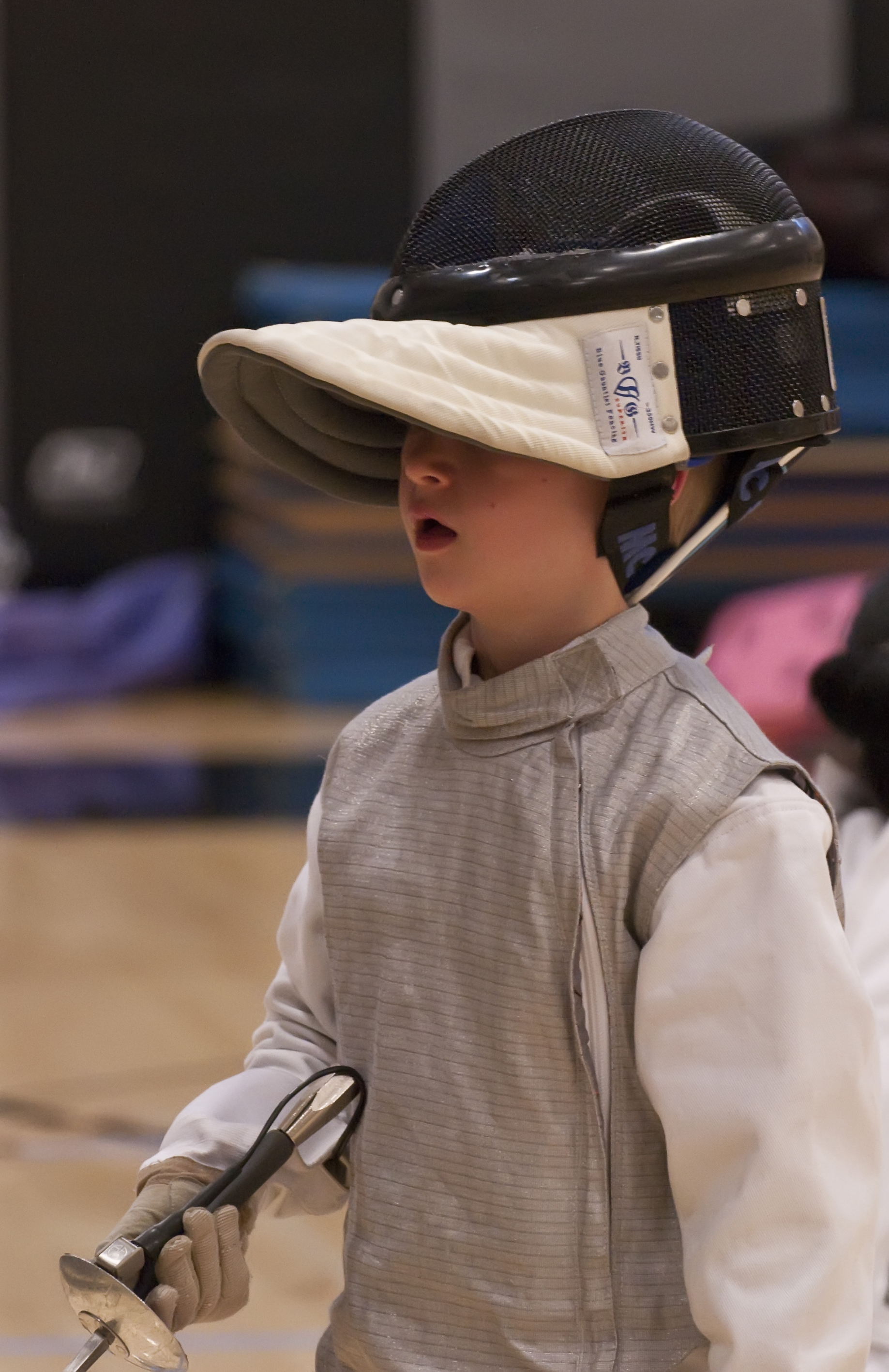 young fencers