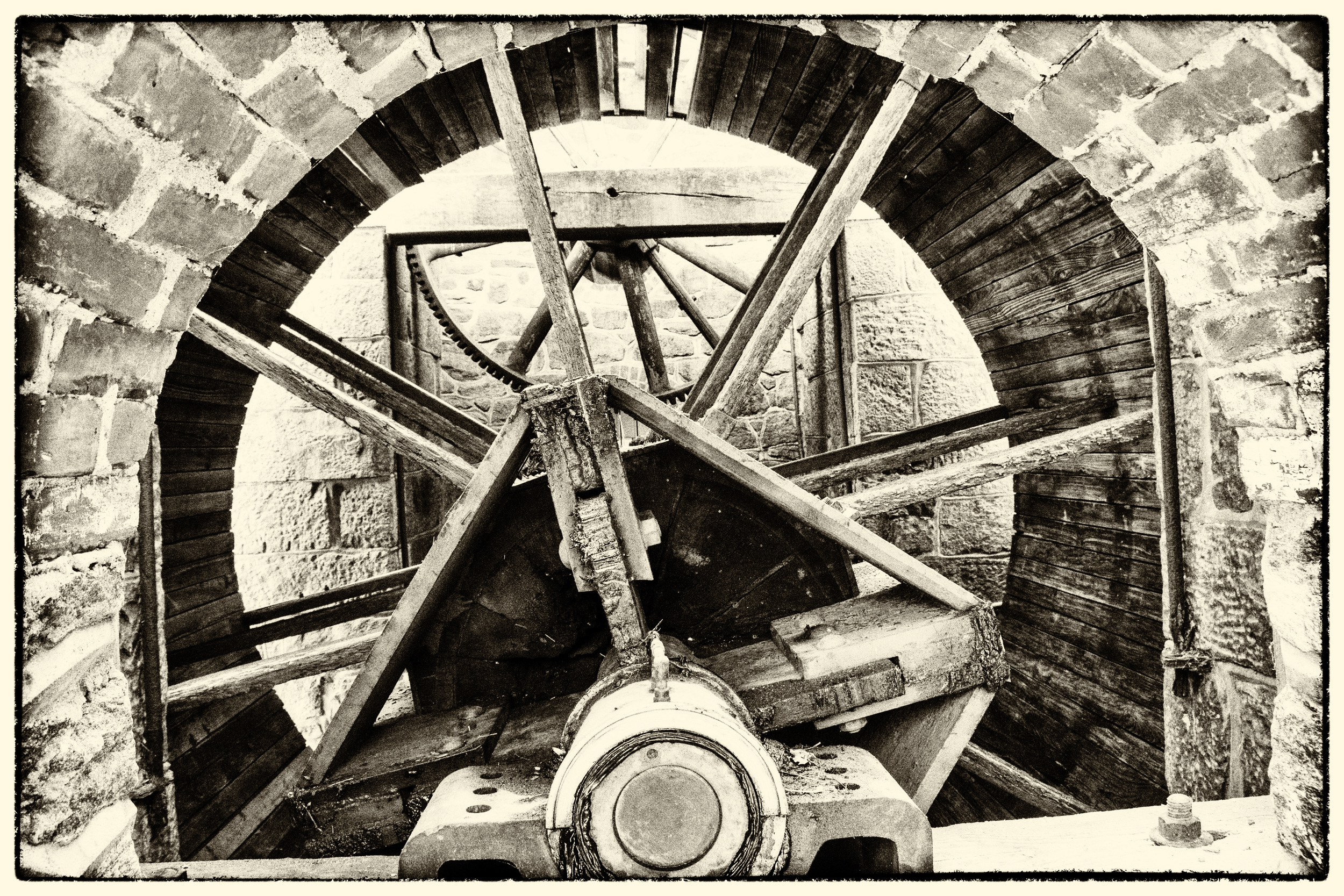 water wheel mechanism