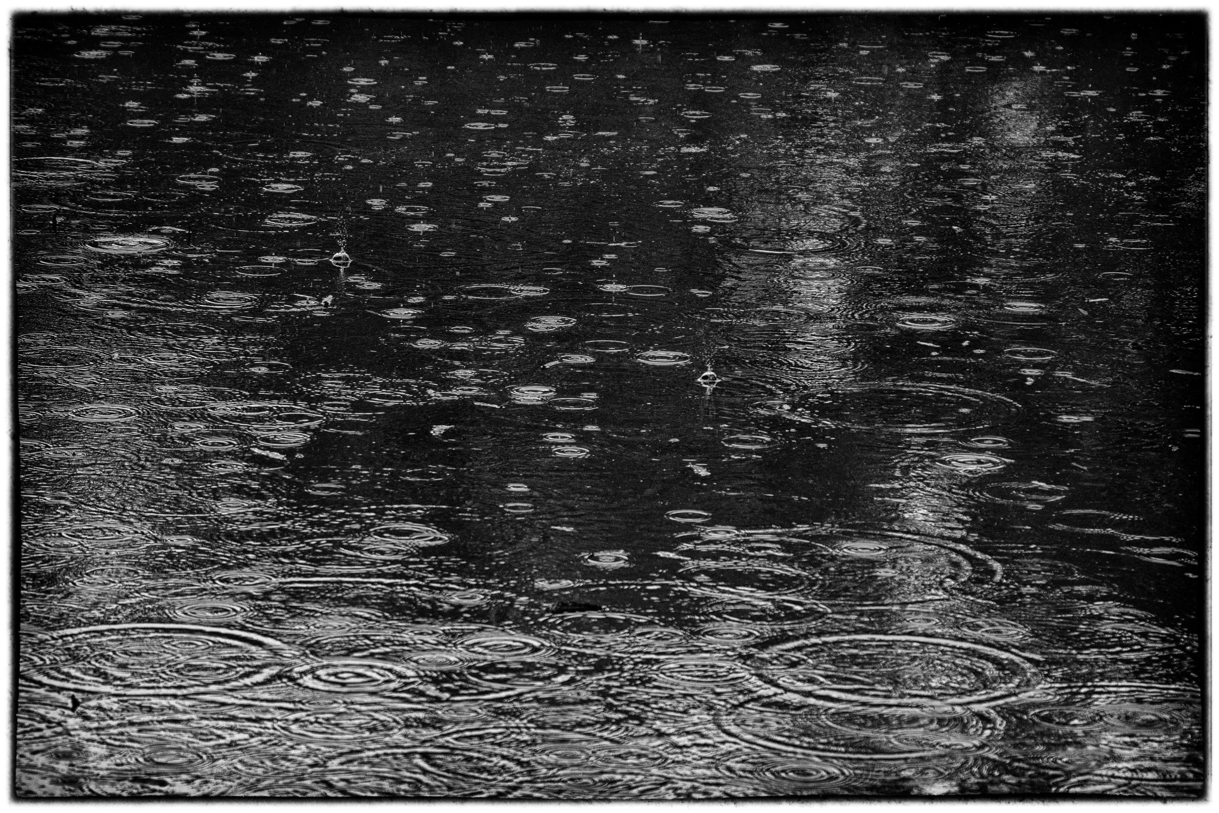 Infrared raindrop
