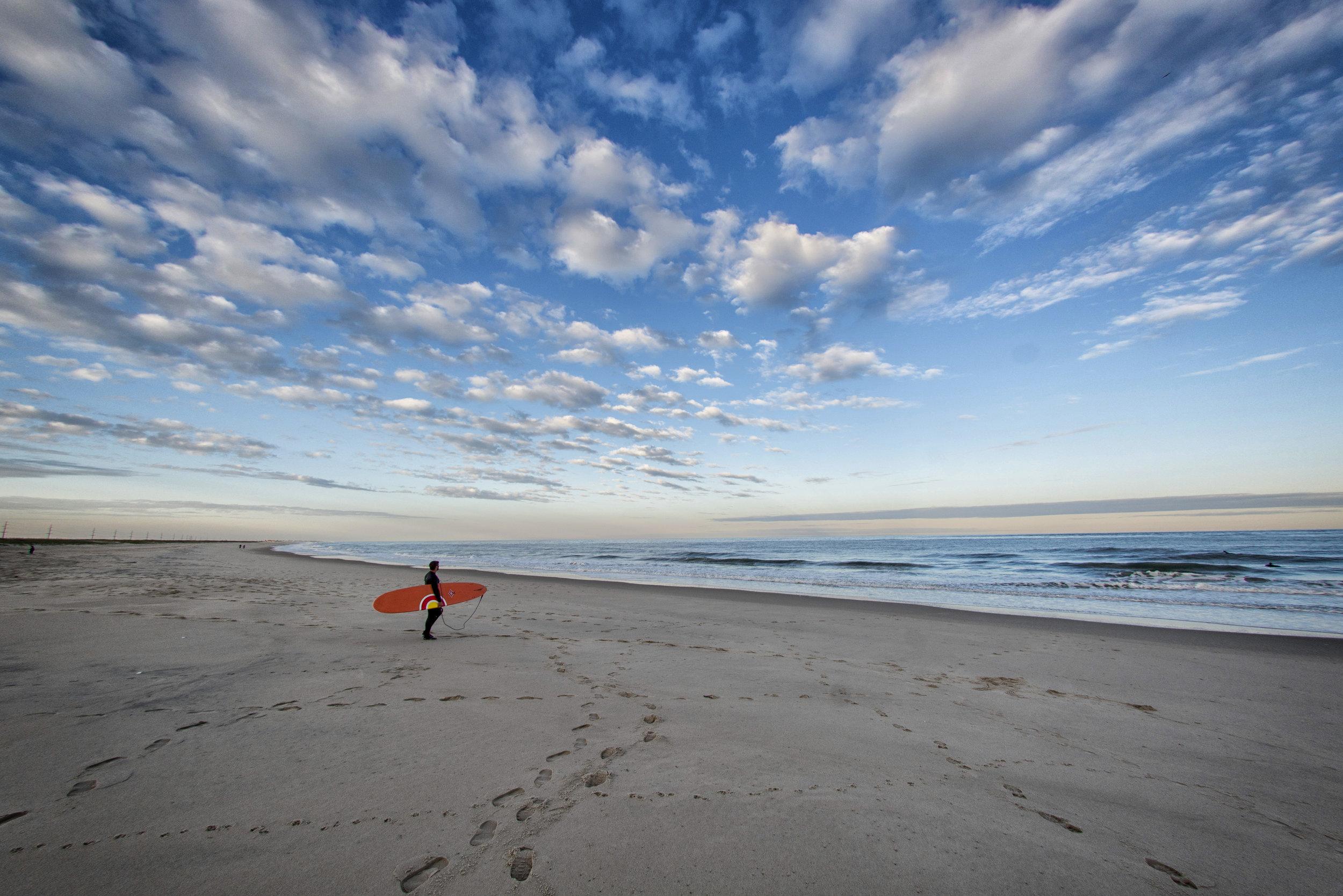 Indian River Inlet surfer