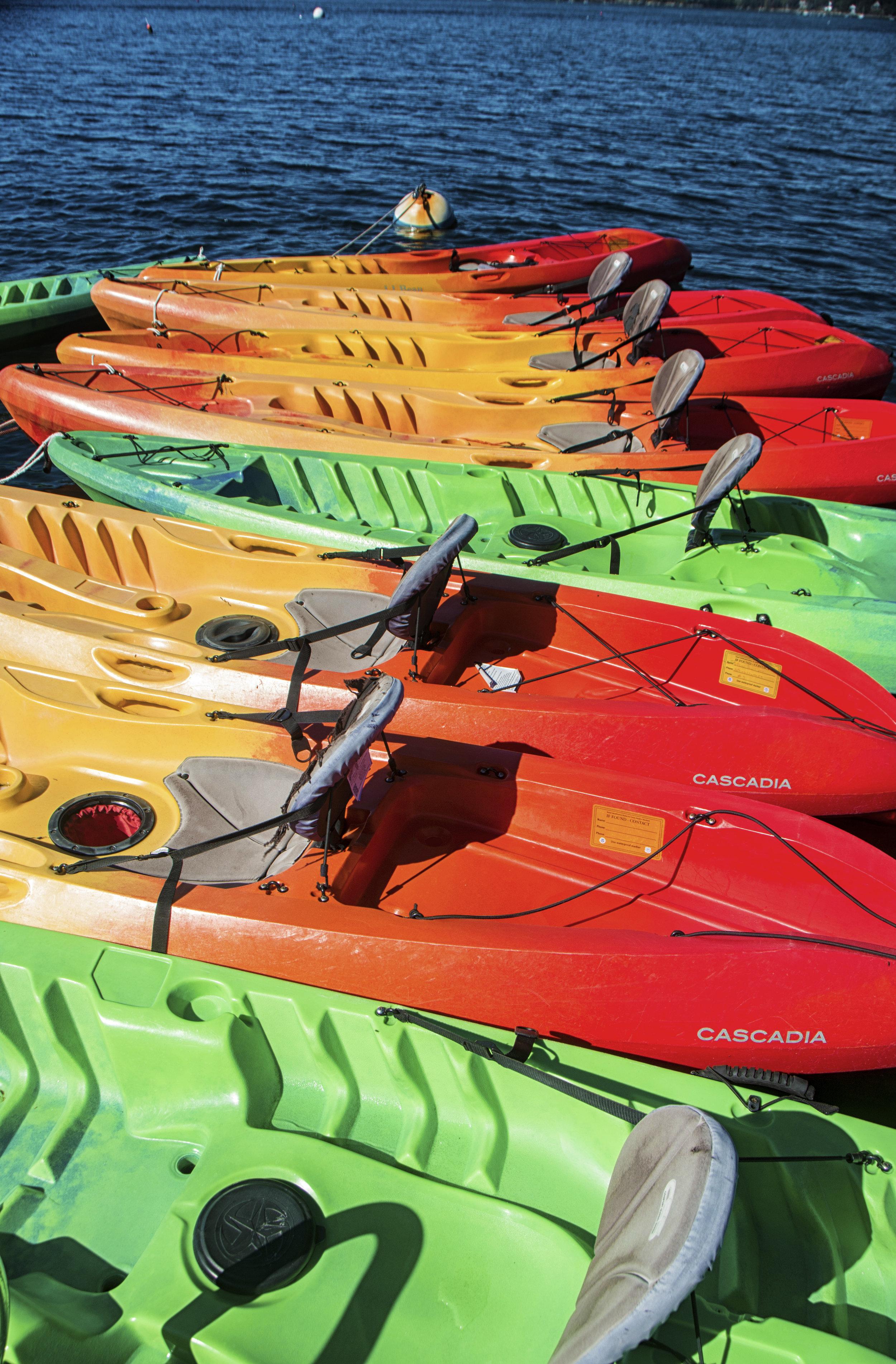 Kayaks, Maine
