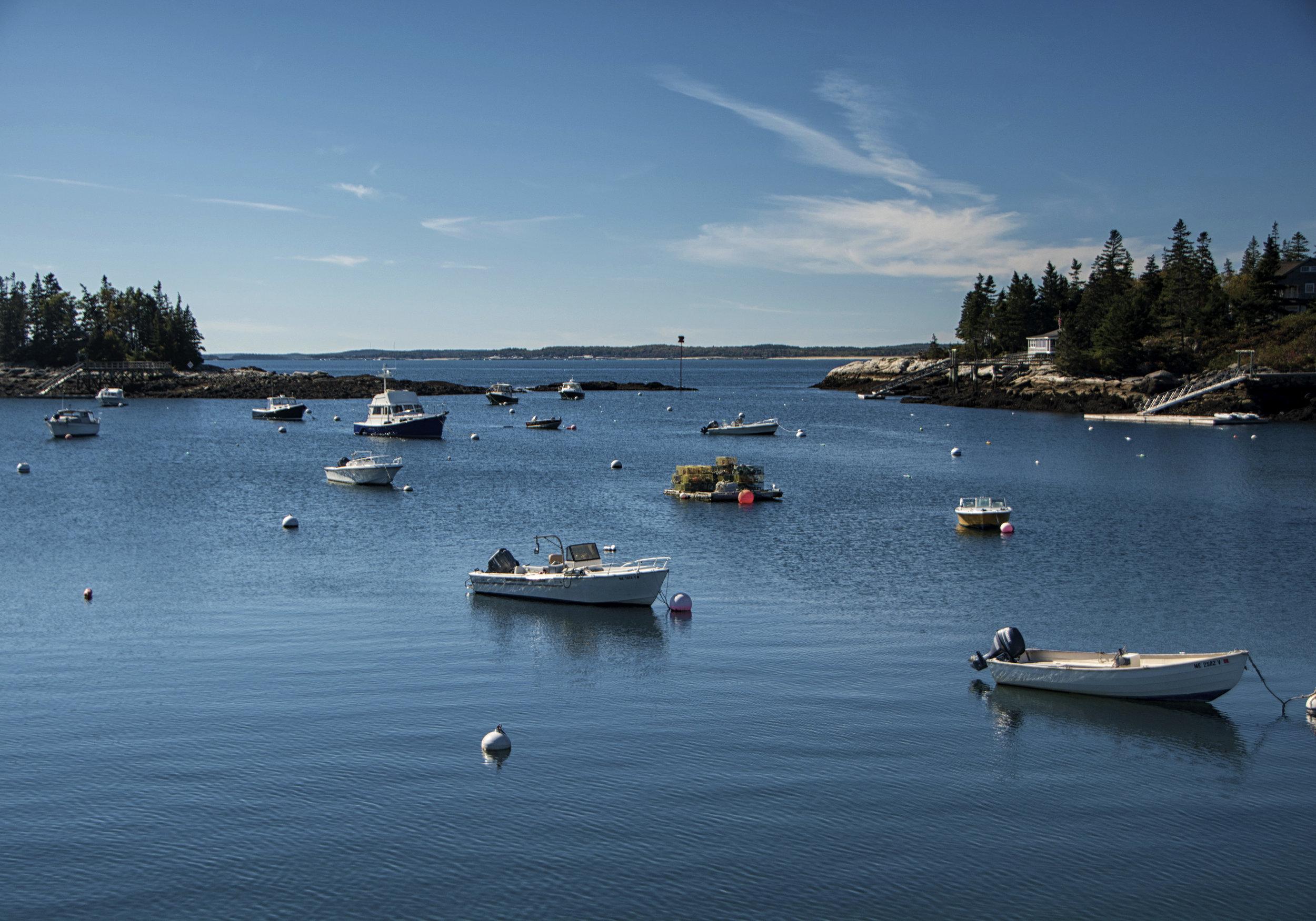 scenic, Maine