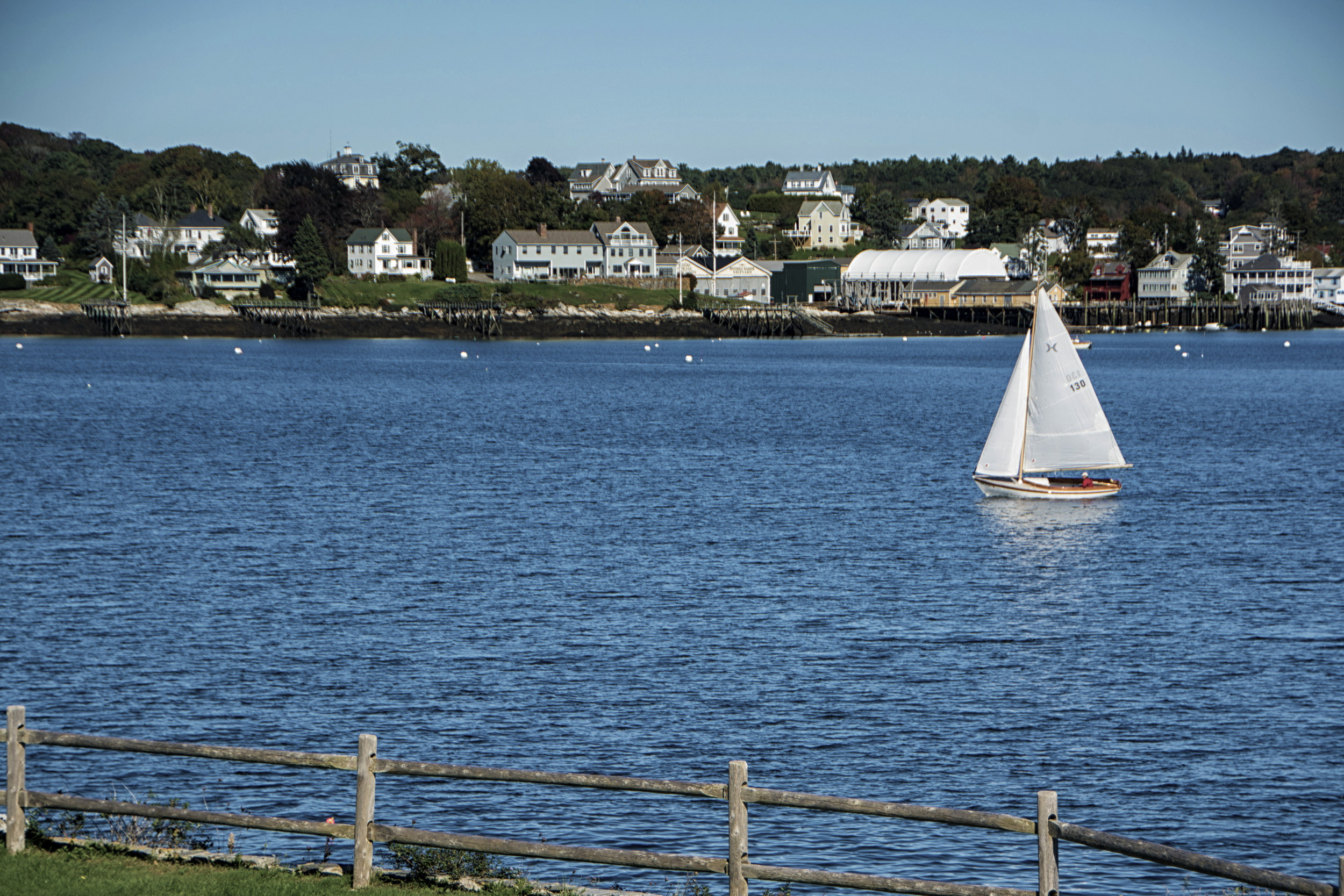 sailboat, Boothbay Harbor, Maine