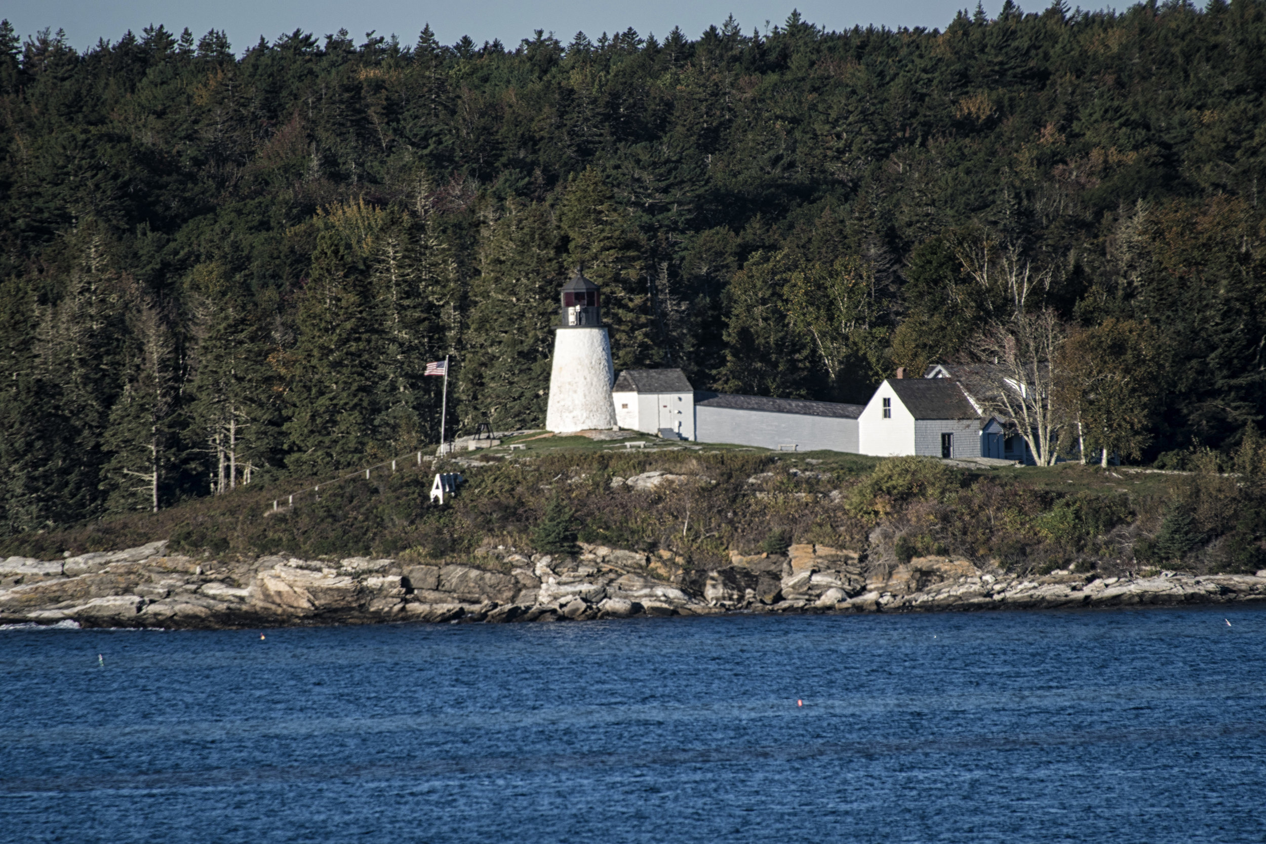 Burnt Point lighthouse, Maine