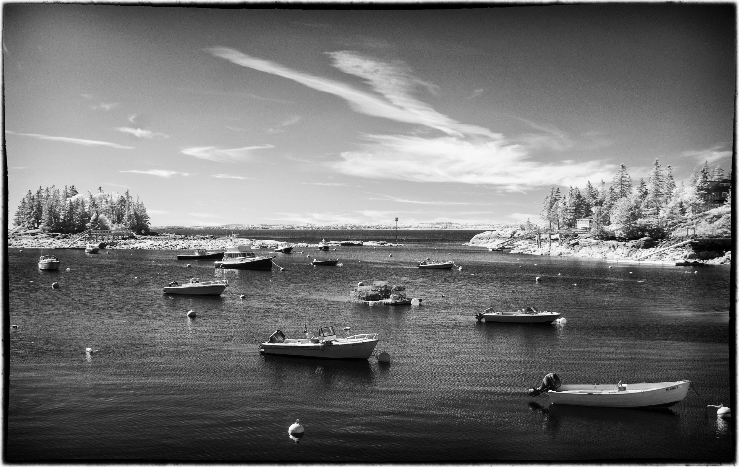 infrared scenic, Maine