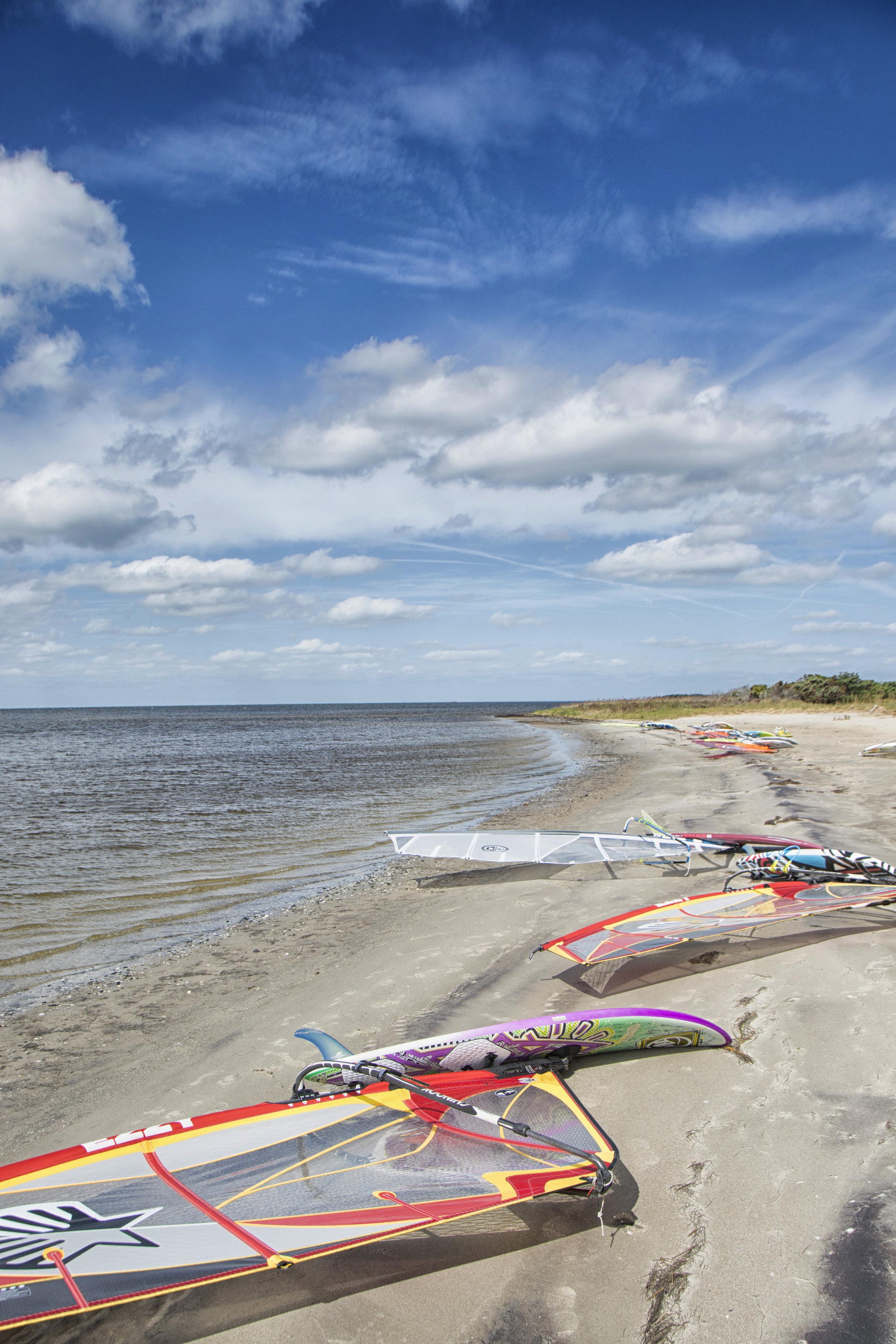 windsurfers, OBX
