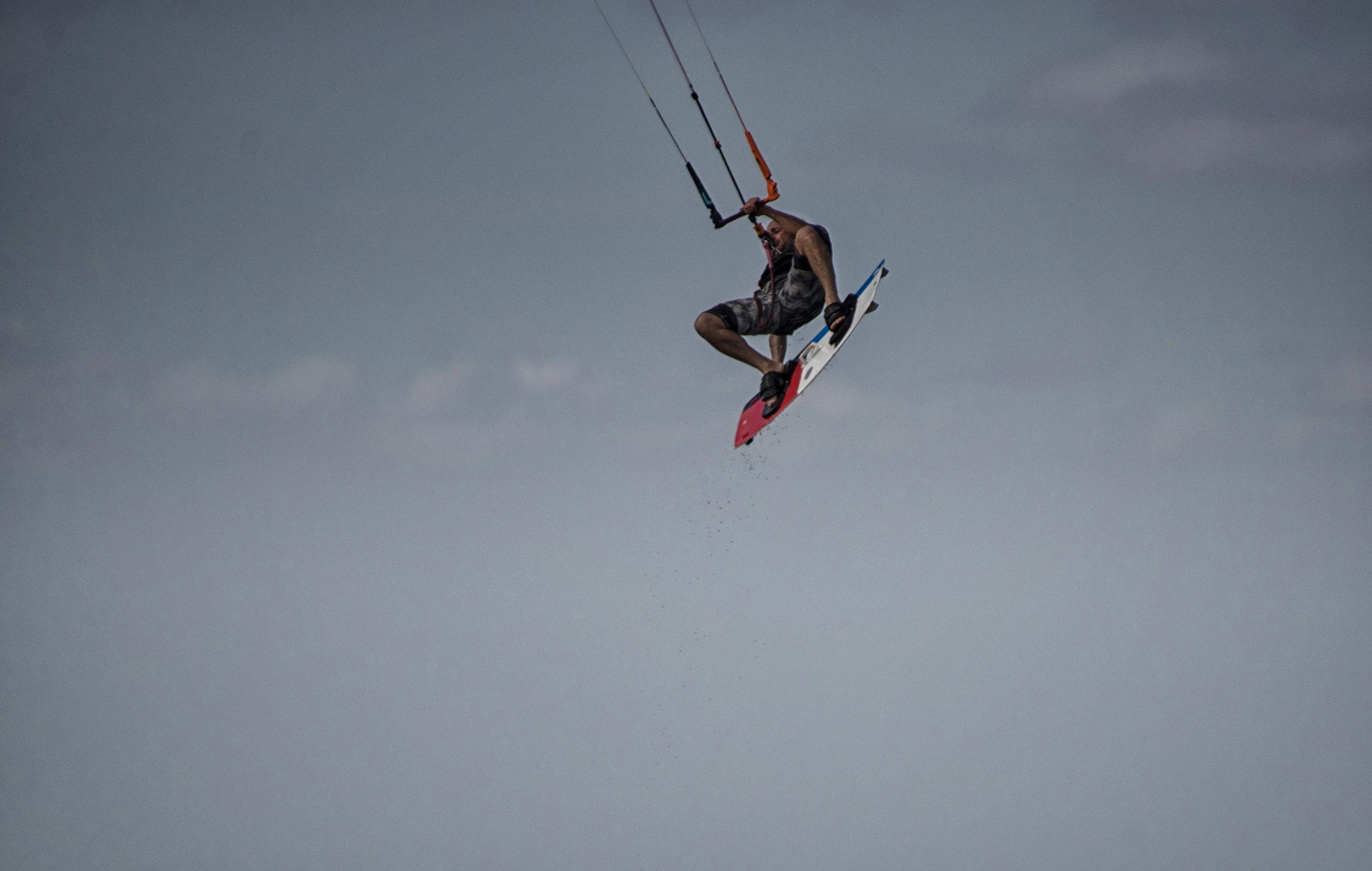 kiteboarder, OBX
