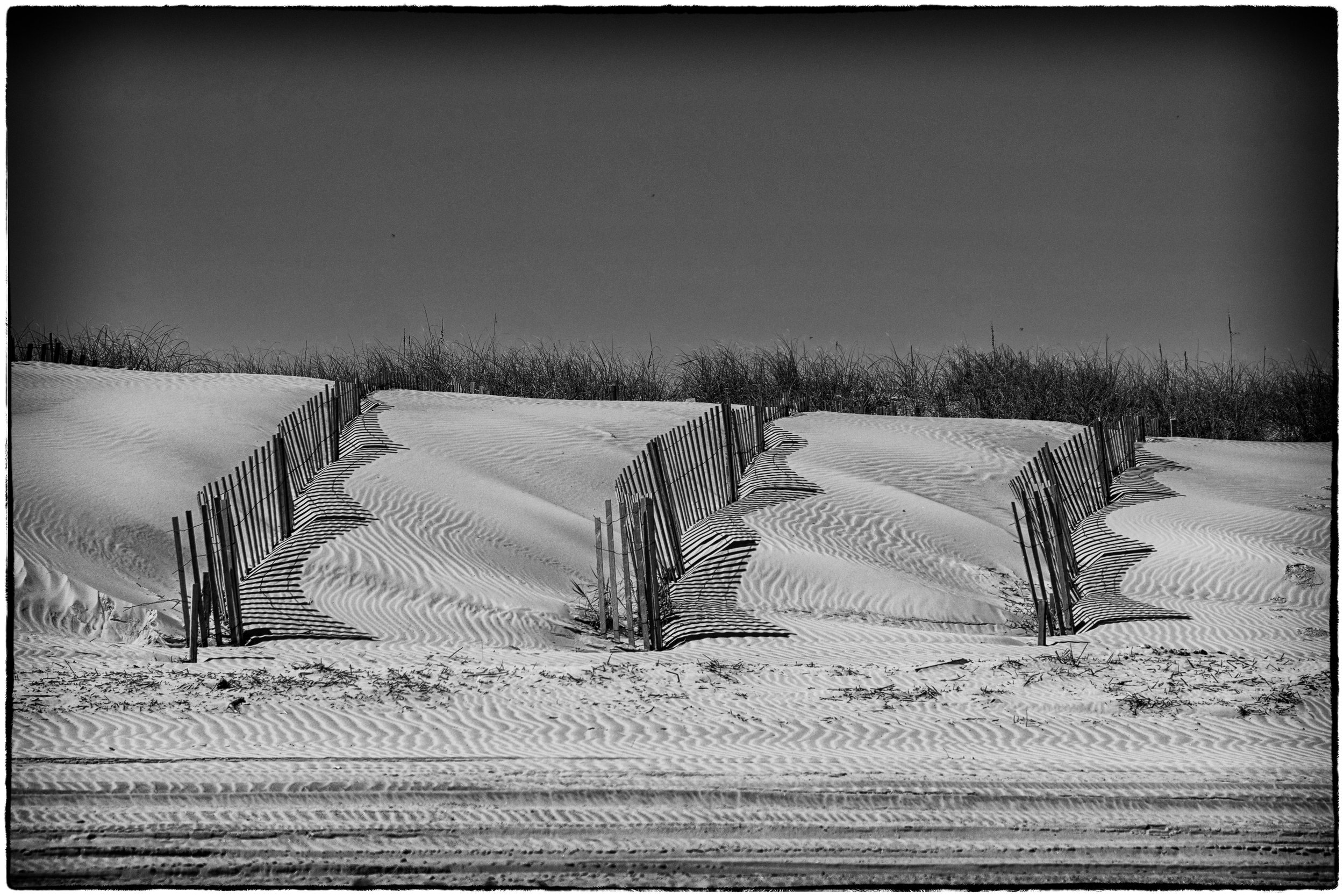 sand fence, OBX