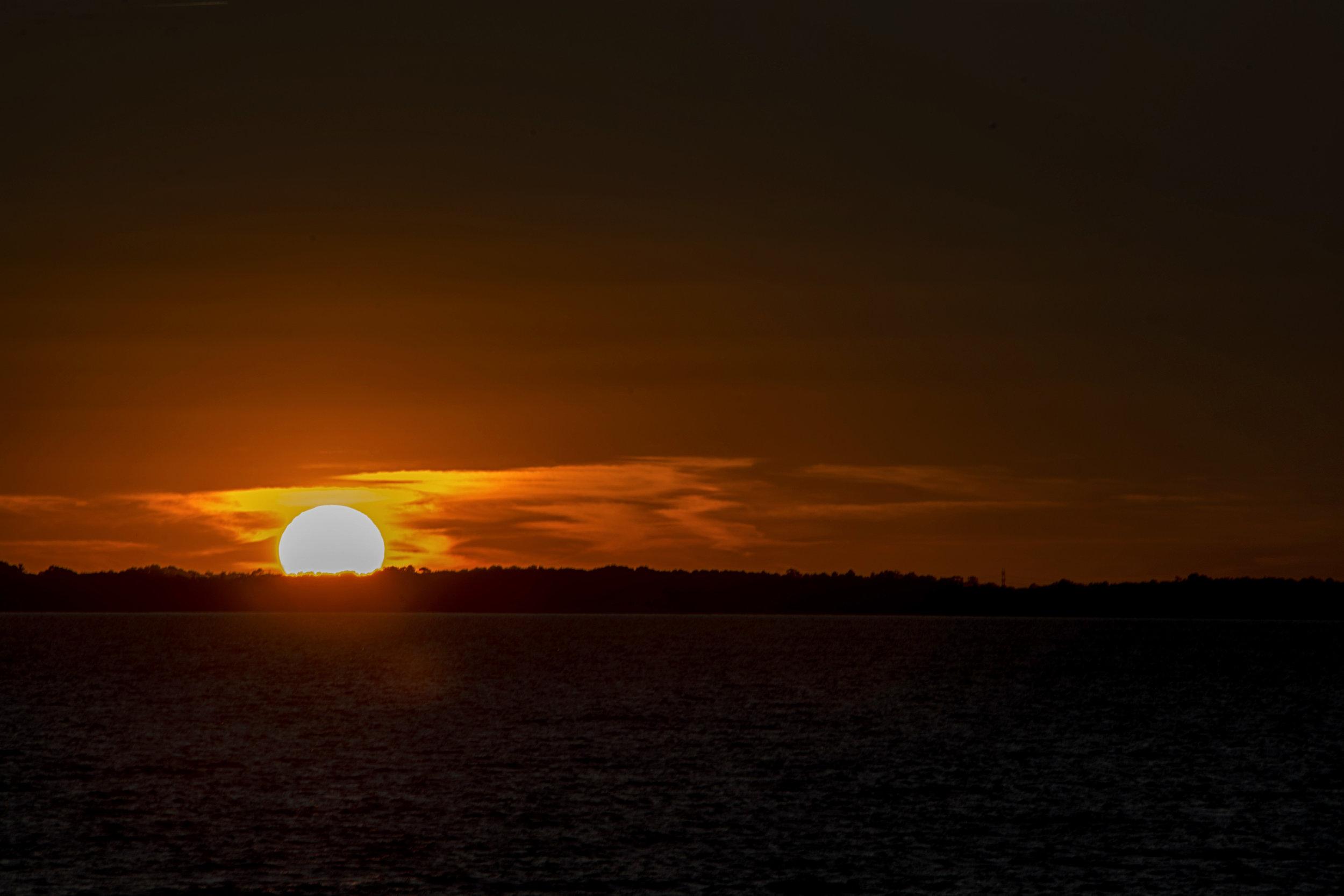 sunset, OBX