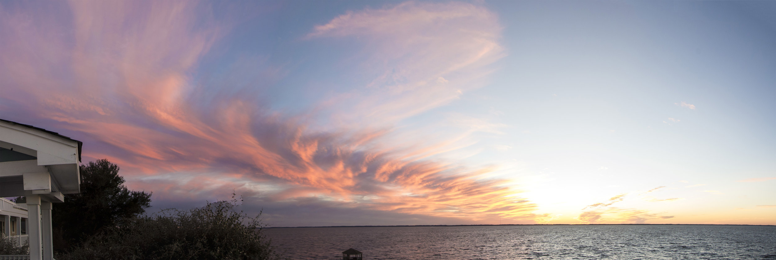 OBX sunset panorama