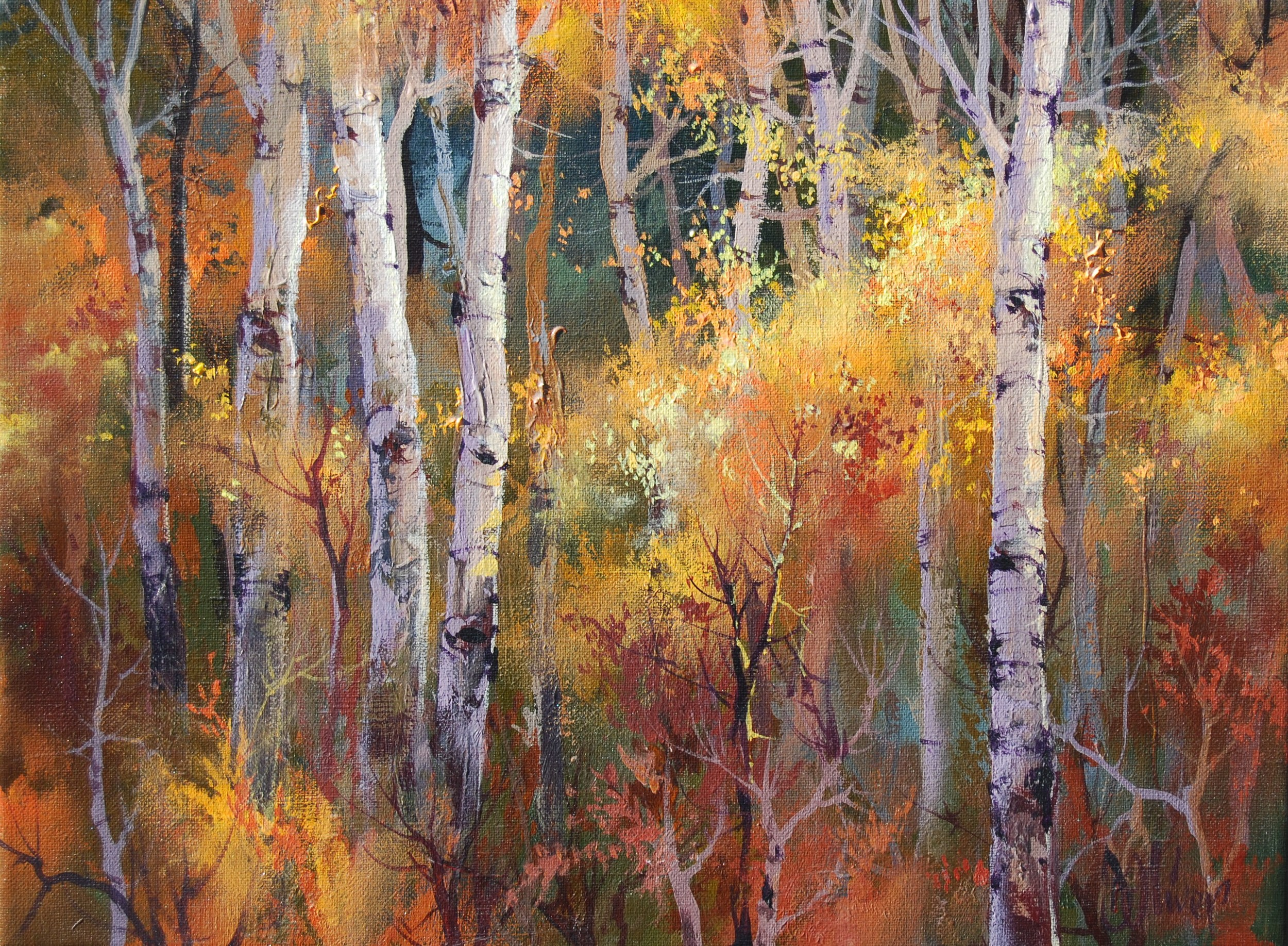 """Autumn"" / 12x16 / $900.                    SOLD"