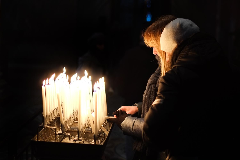 Praying (Venice, 2012)