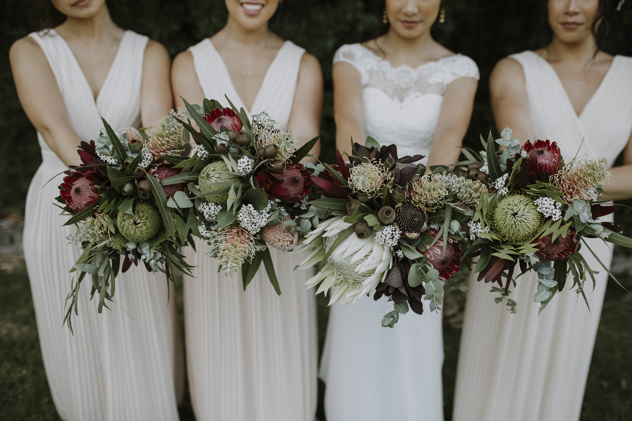 Bride and Maids Bouquets
