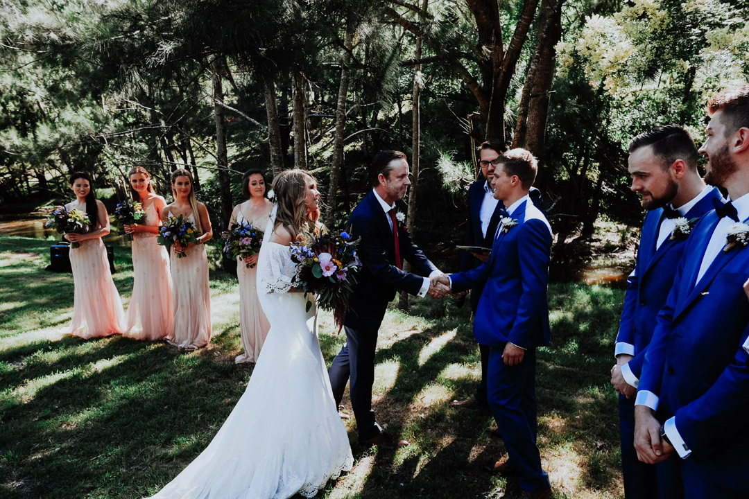 Bride and Groom Ceremony