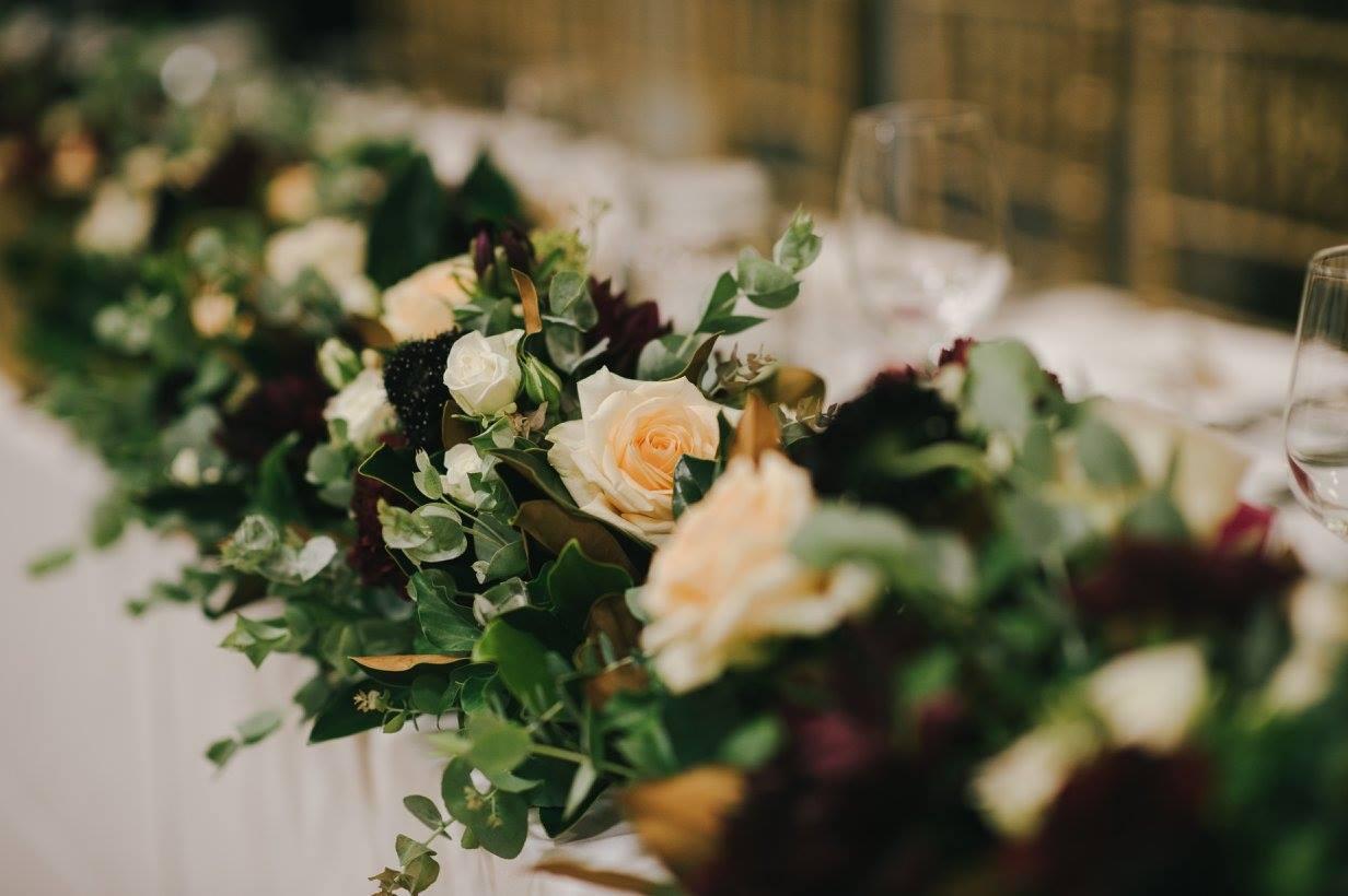 Bridal Table Garland