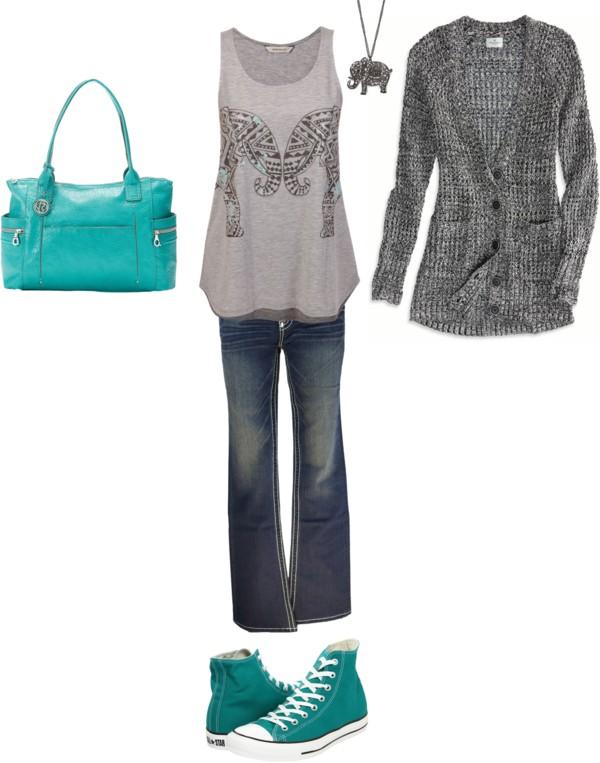 Casual Women's Outfit Inspiration {OKC Portrait Photographer}
