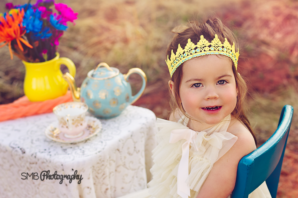 Let's Have a Tea Party for the Birthday Girl! {Oklahoma City Children's Photographer}