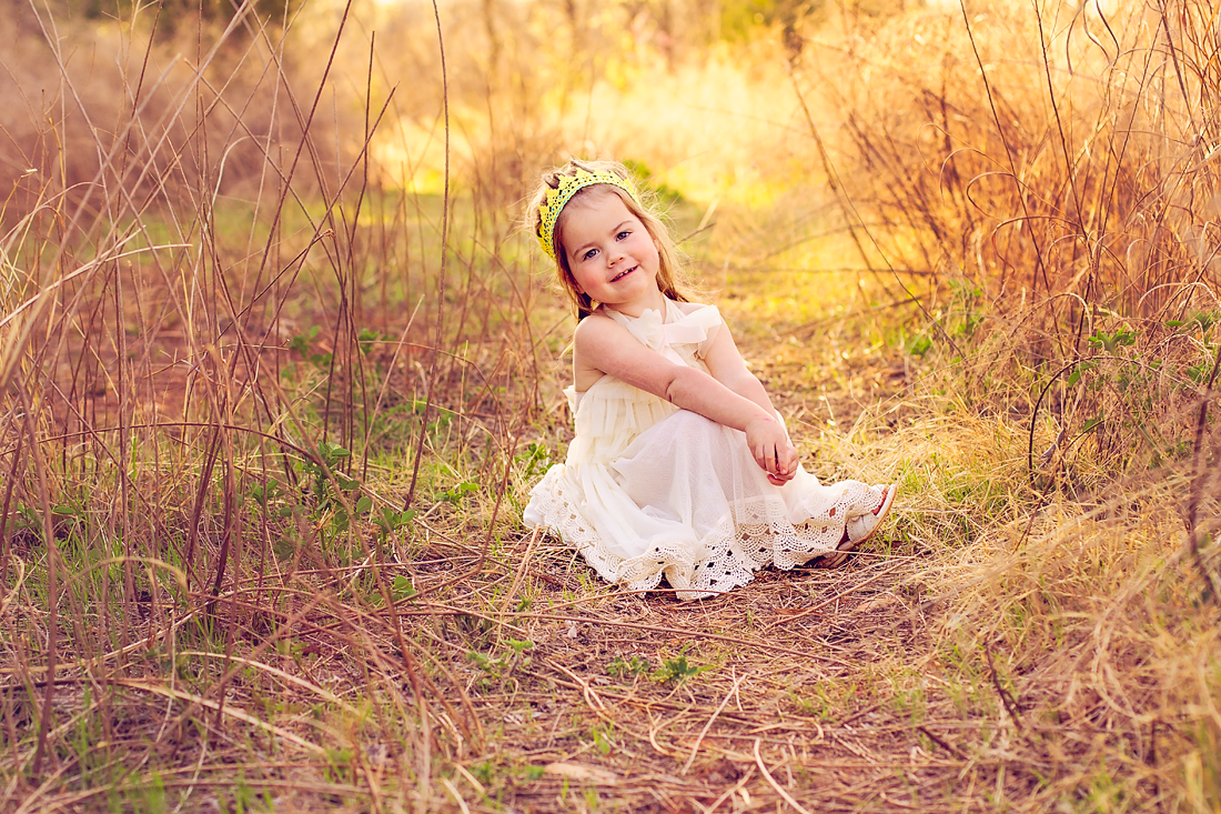 Posing came really naturally to Miss C! {Oklahoma City Children's Photographer}