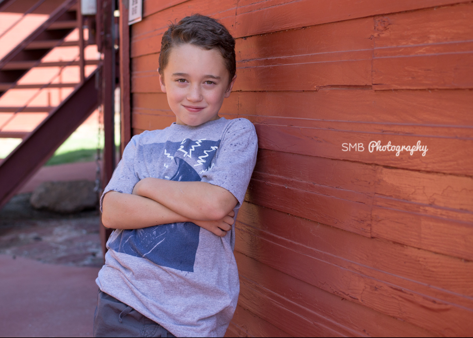 Before Professional Portrait Editing | Oklahoma City Children's Photographer