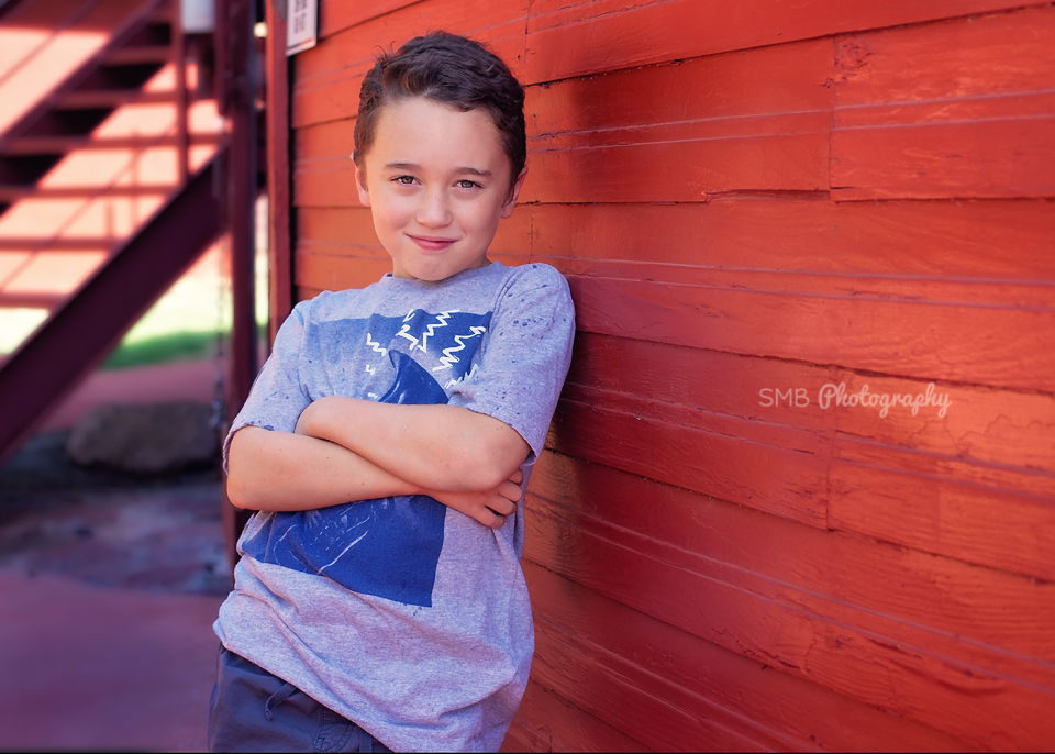 After Professional Portrait Editing | Oklahoma City Children's Photographer