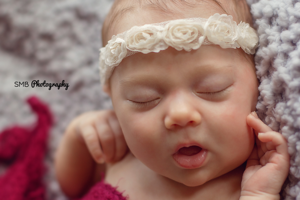 Oklahoma Newborn Photographer | Beautiful Miss Dakota