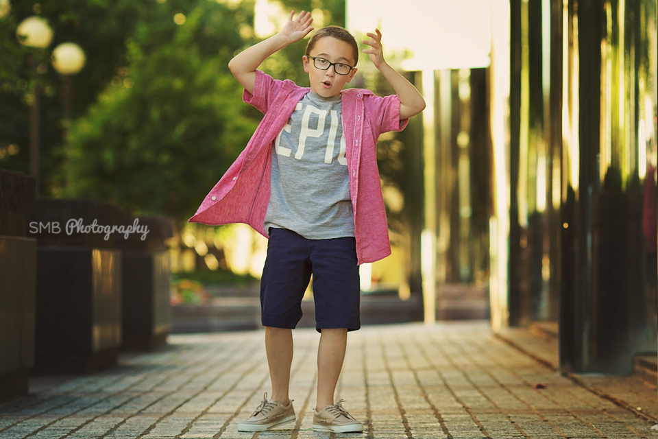 Oklahoma Child Photographer   Downtown Children's Portraits