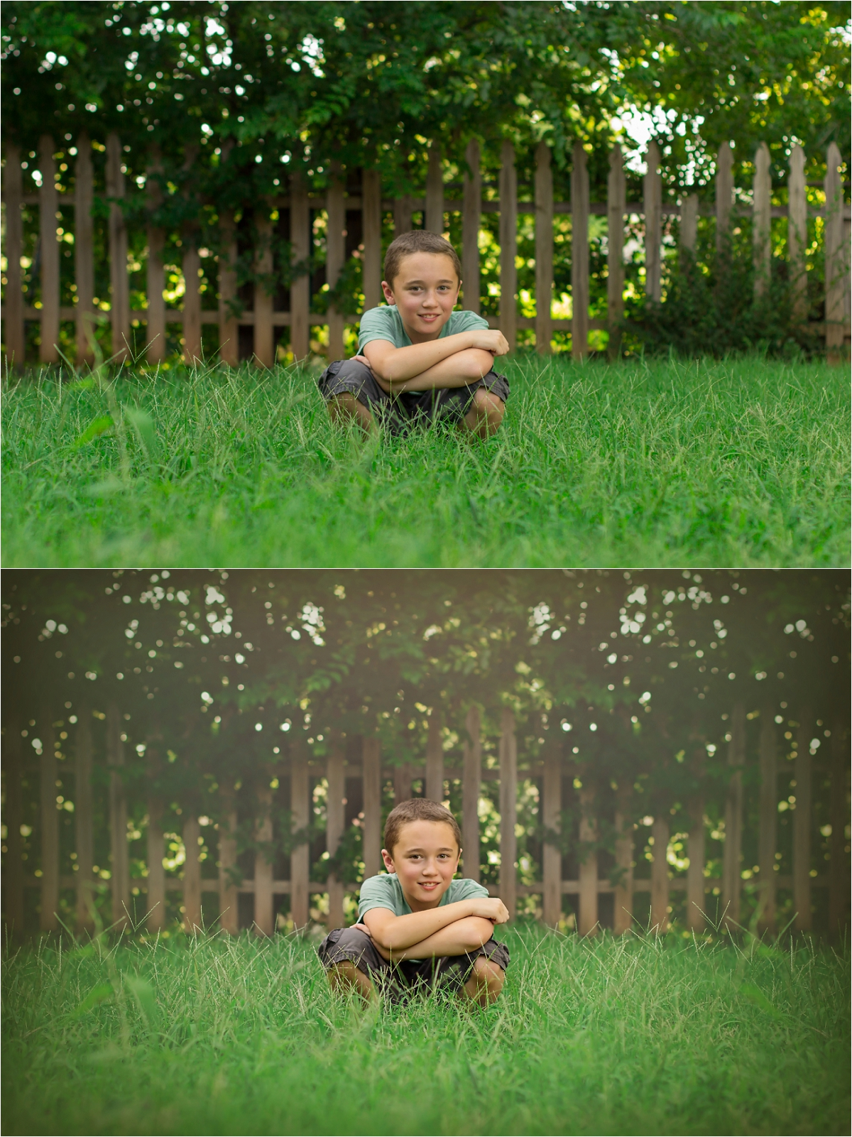 Magic Monday: Before & After Editing   Oklahoma Child Photographer