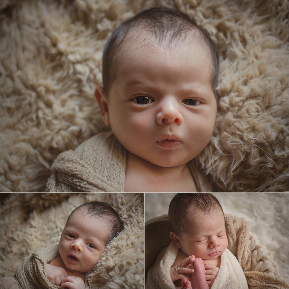 Oklahoma City Newborn Photographer | Baby Gael