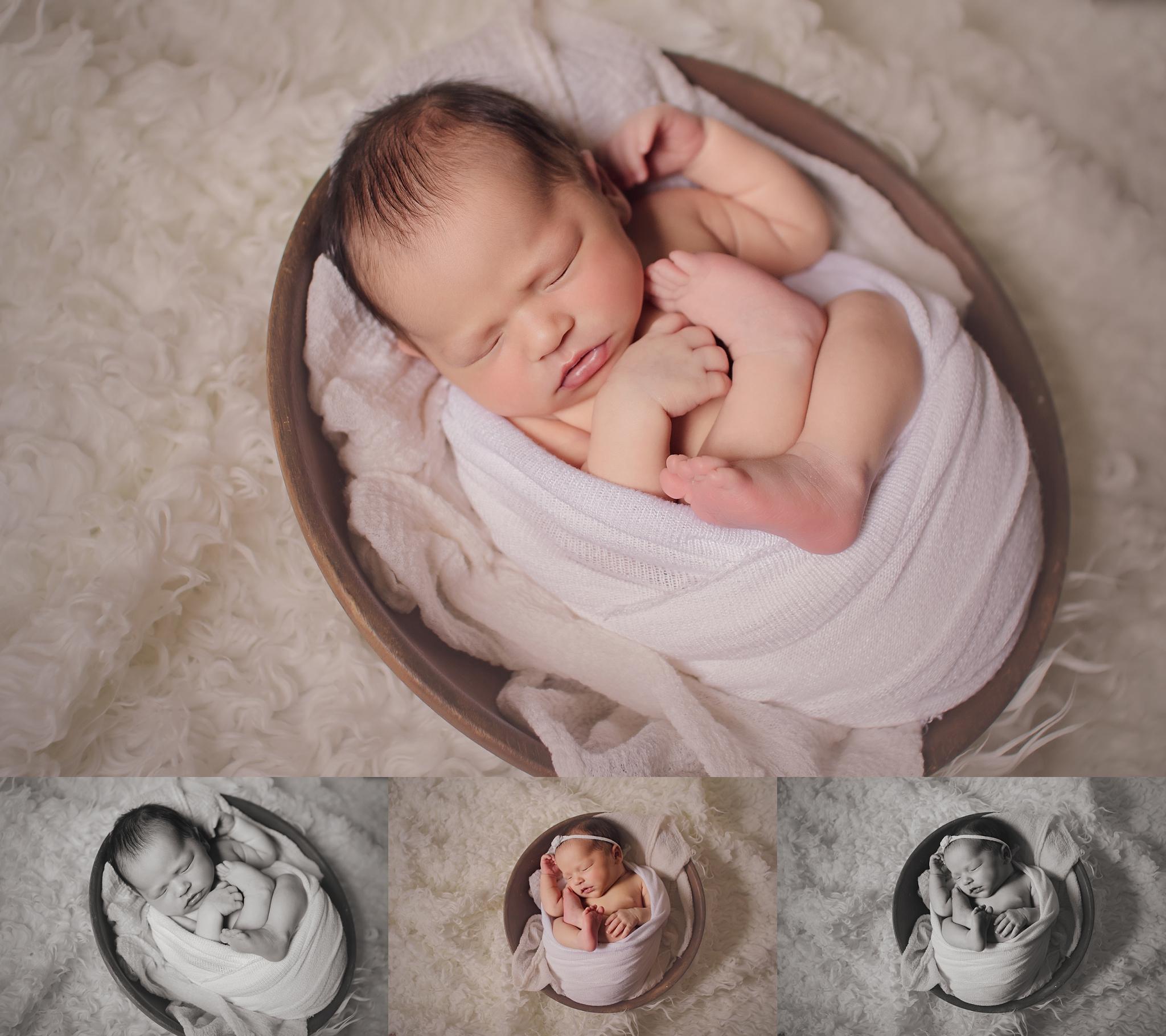 Oklahoma City Newborn Photographer   Baby Sophia